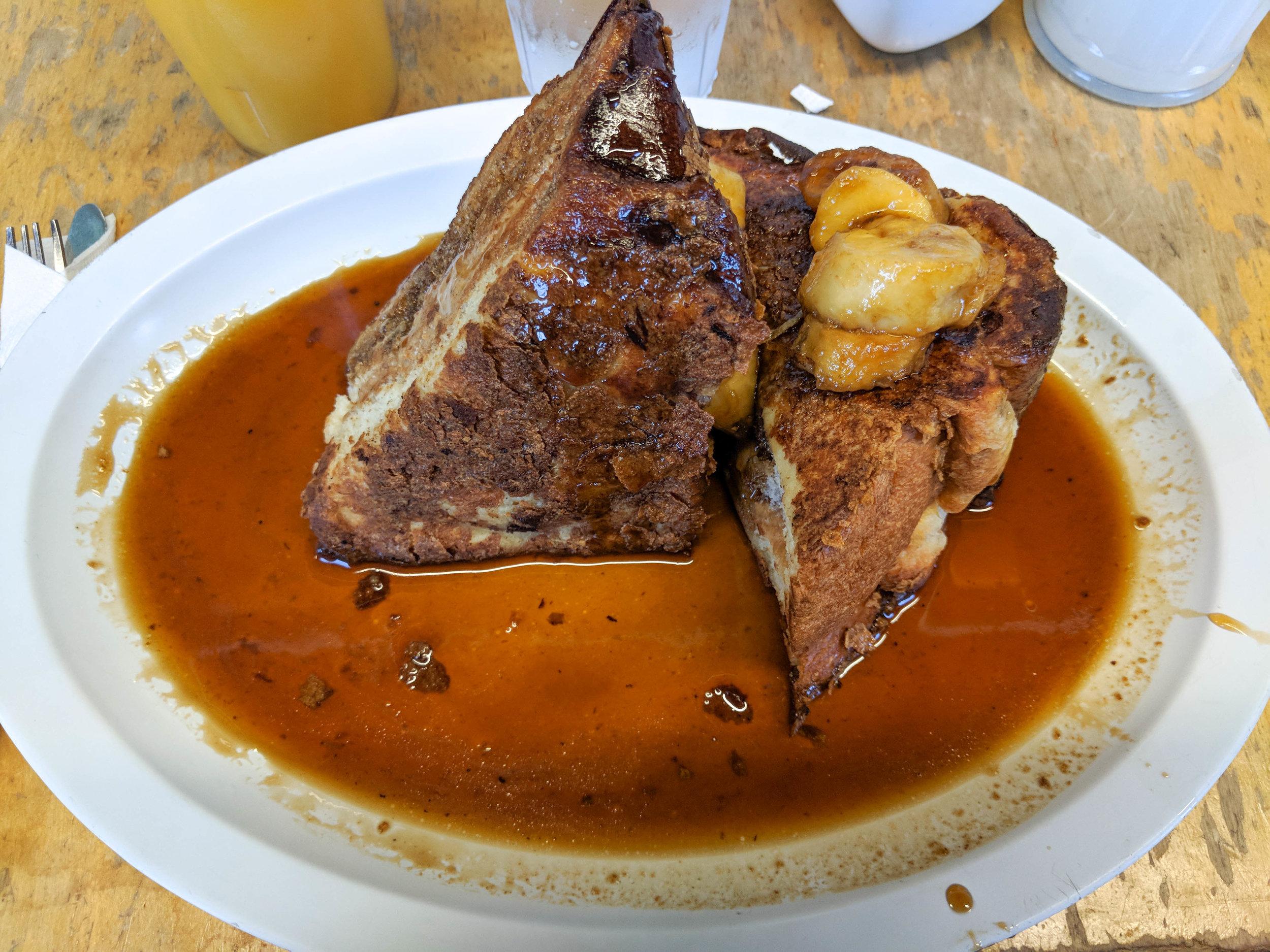 peanut butter french toast; bri rinehart; highland bakery; atlanta