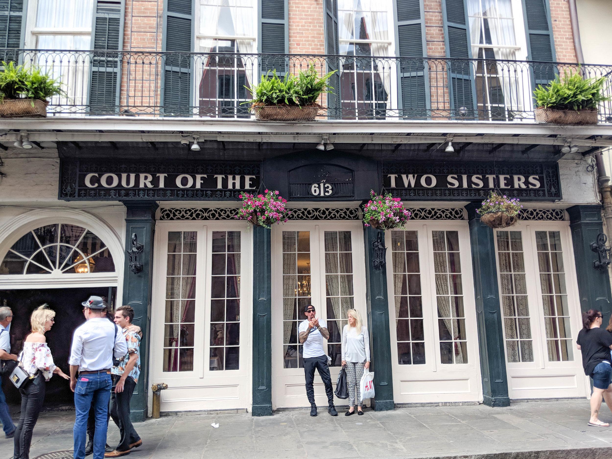 court of two sisters; bri rinehart; new orleans; nola