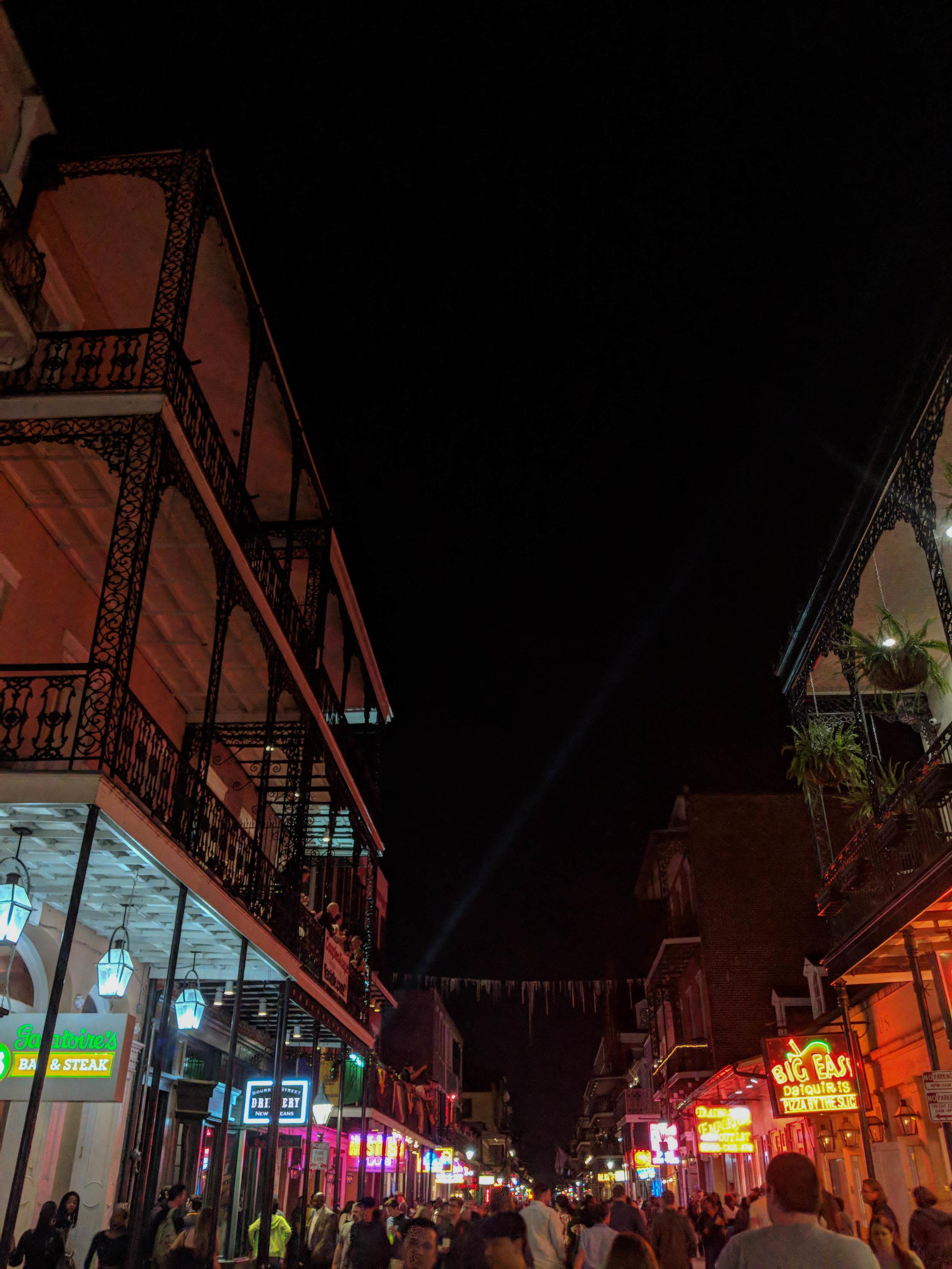 Bourbon Street; NOLA; New Orleans; Bri Rinehart