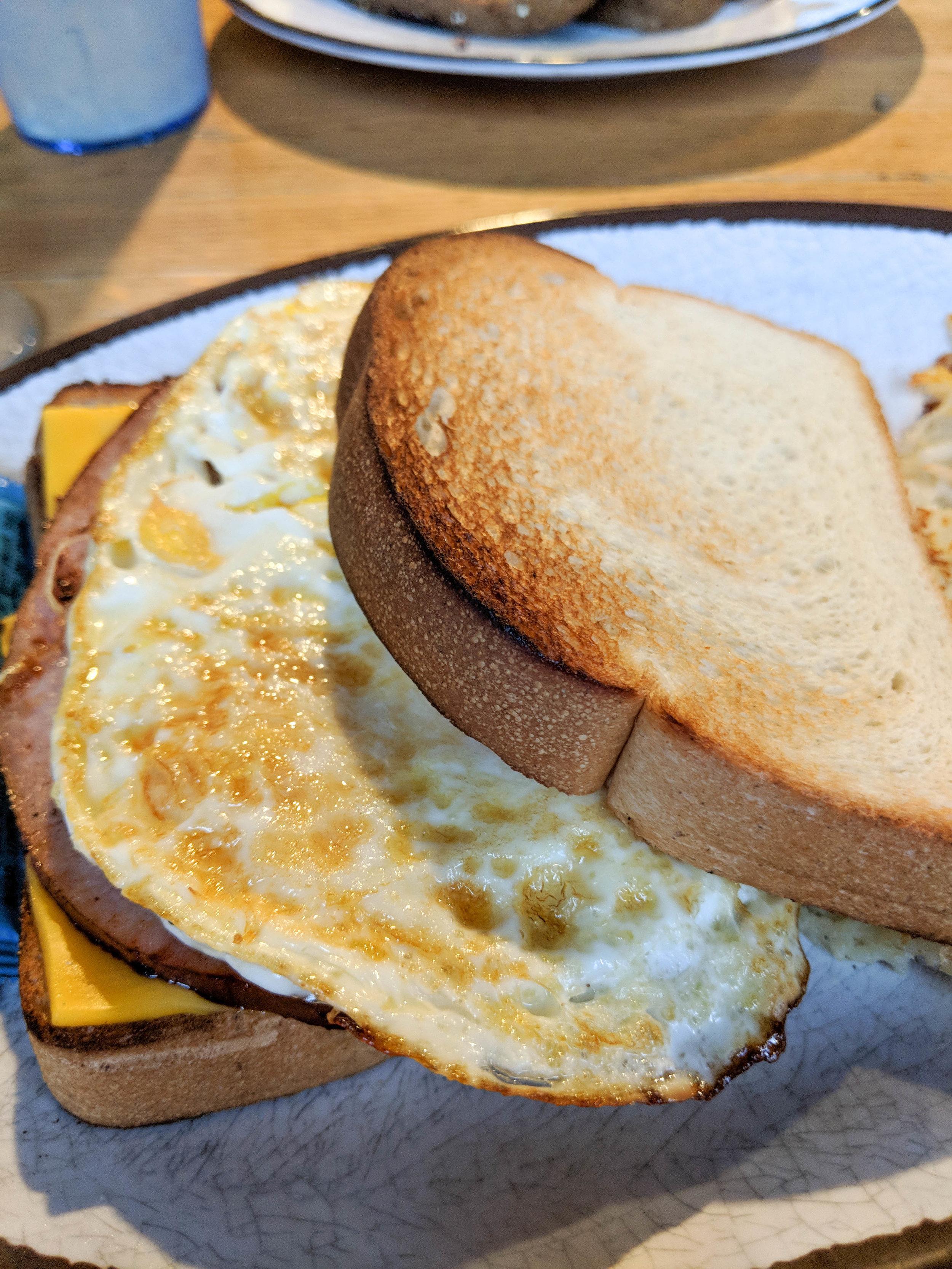 daisy dukes; bri rinehart; breakfast sandwich