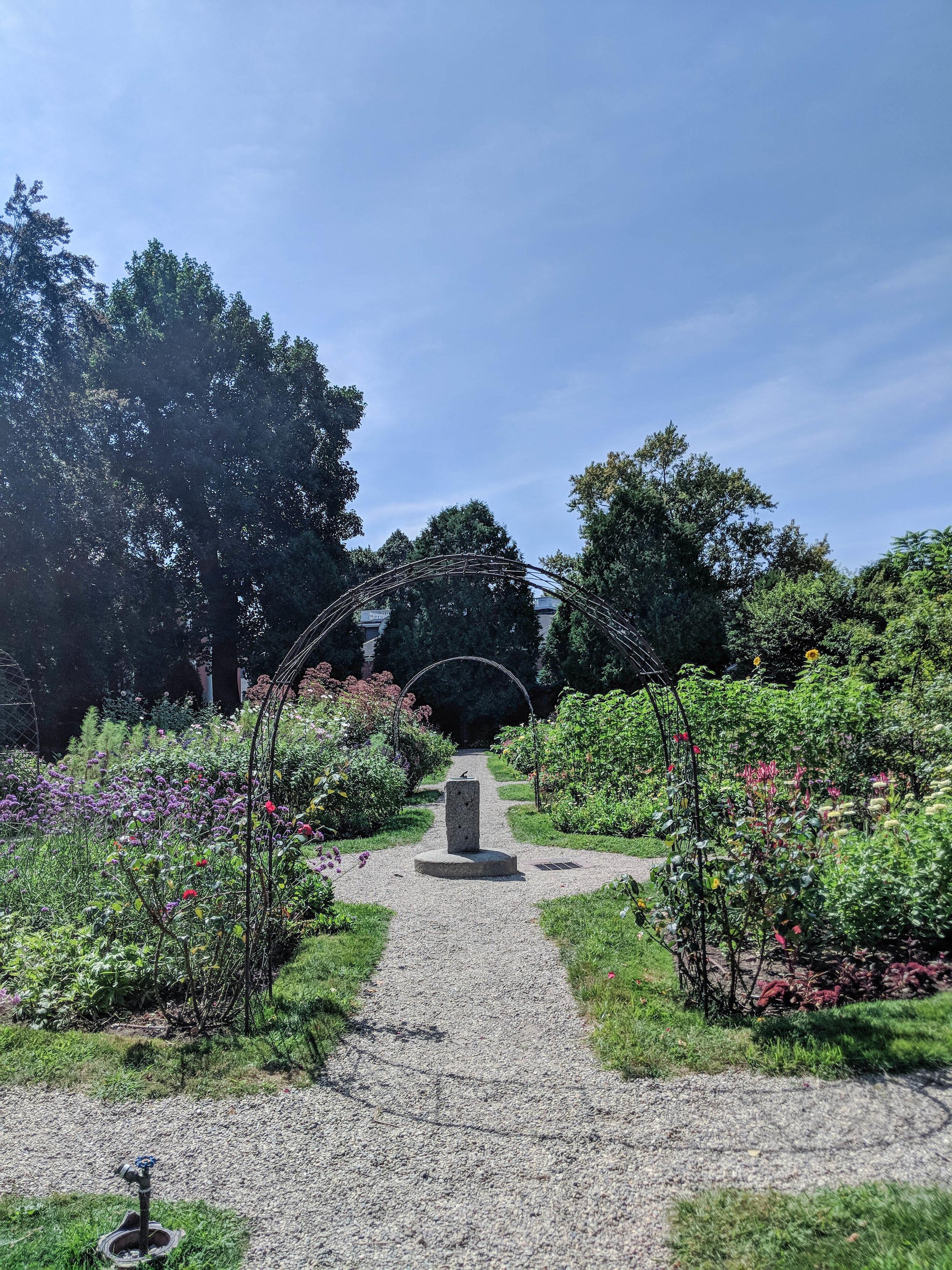 ropes mansion; bri rinehart; garden; photography, salem