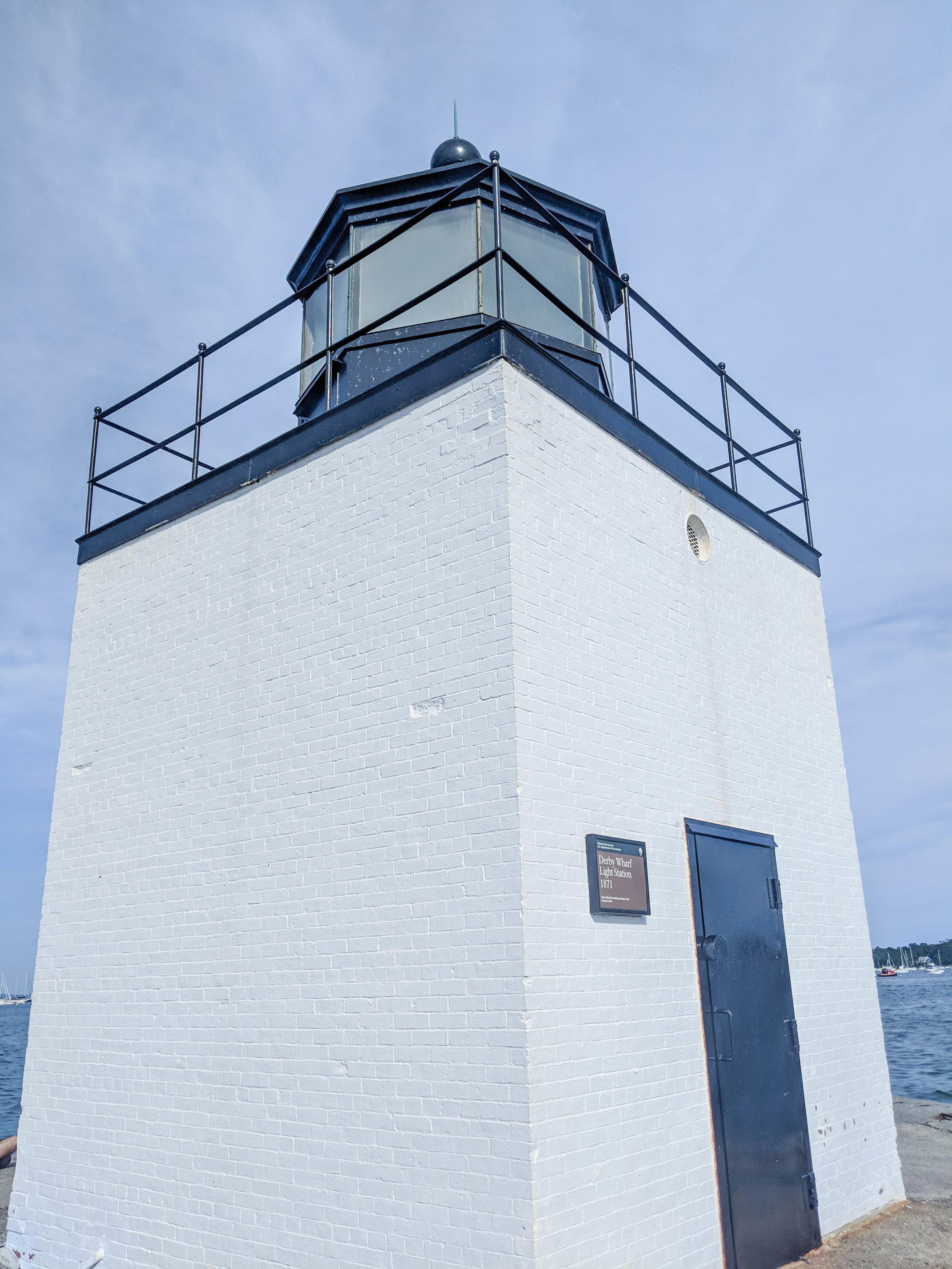 bri rinehart; photography; derby wharf lighthouse; salem