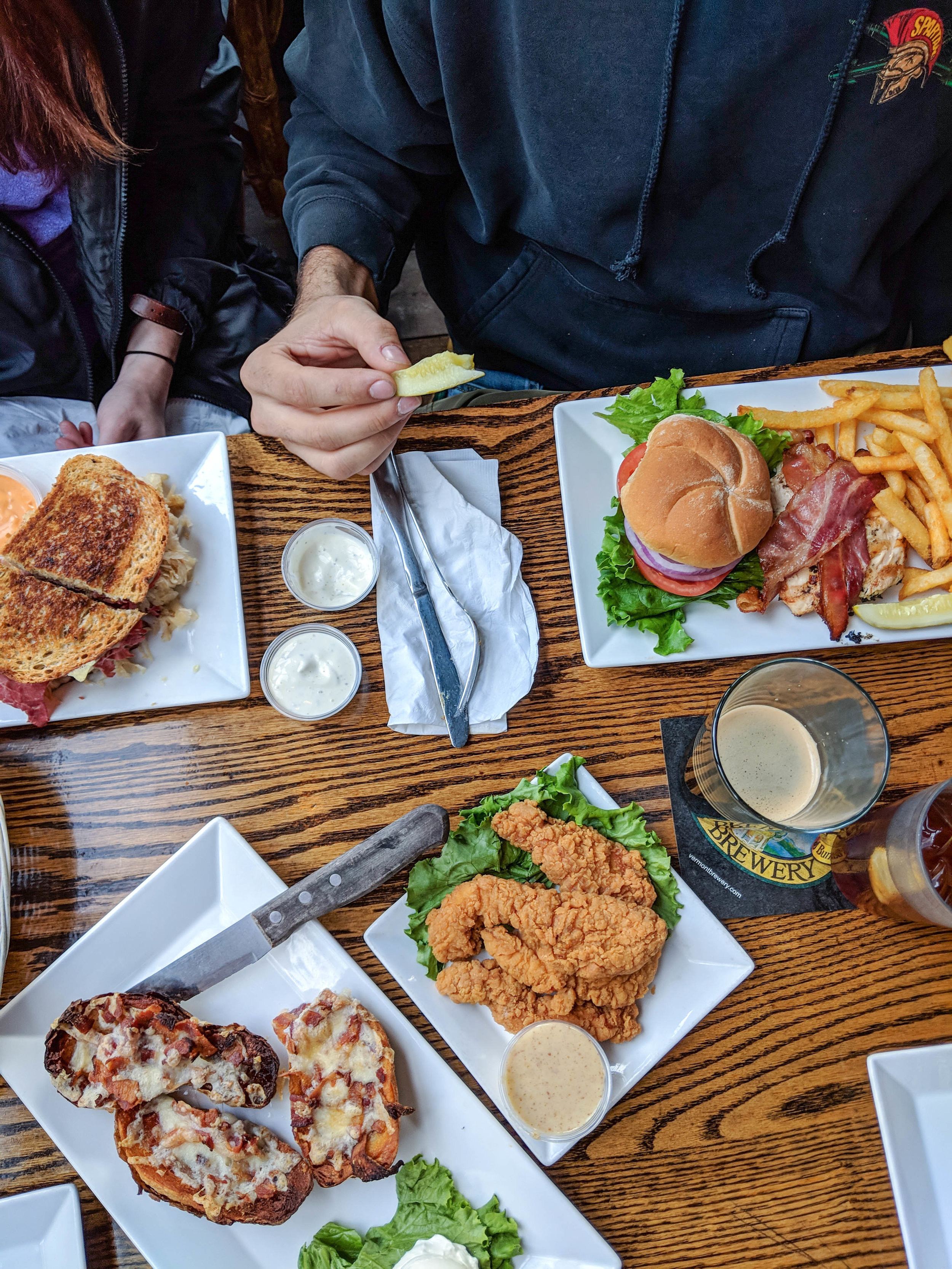bri rinehart; photography; food; vermont pub & brewery