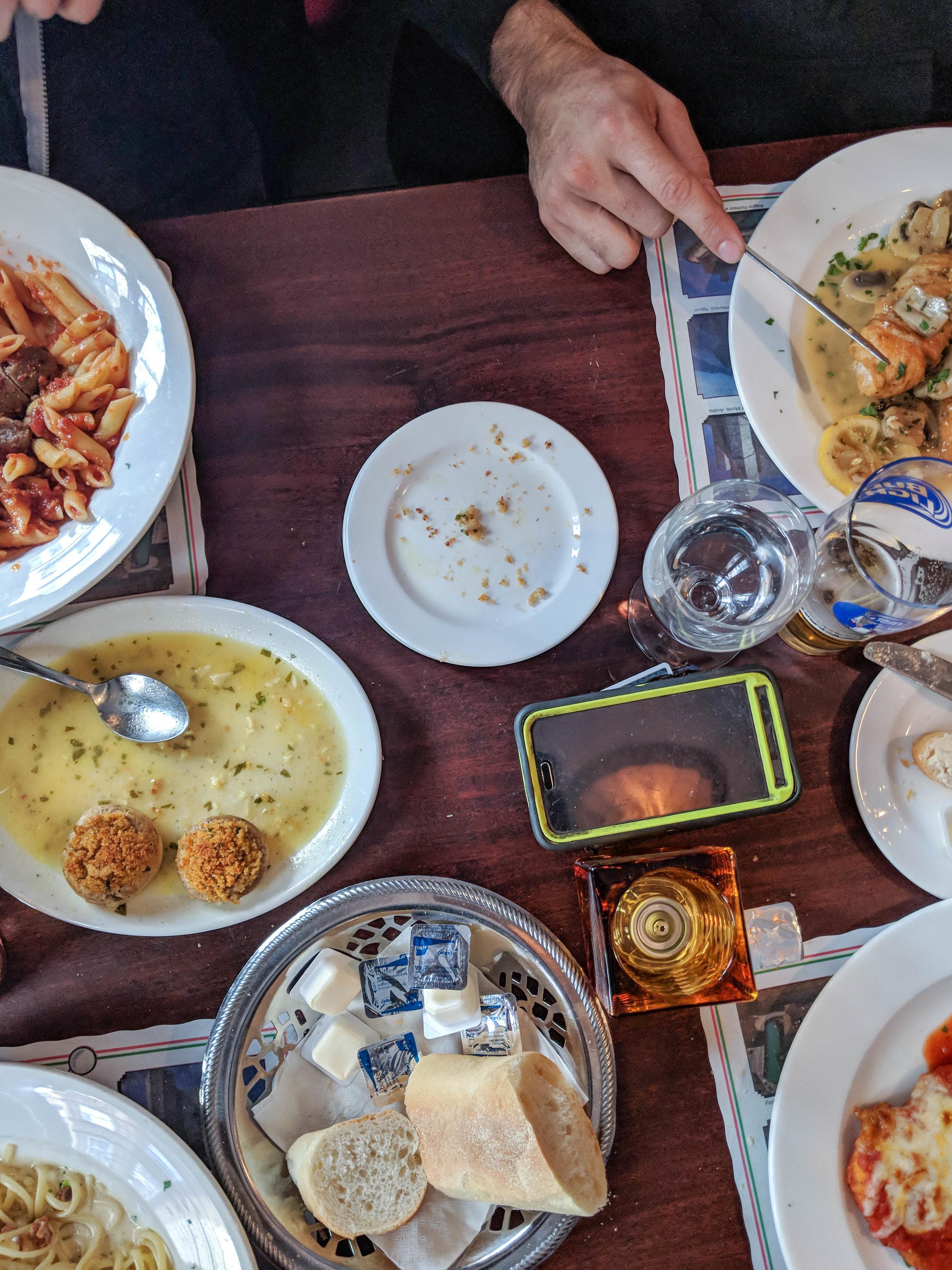 bri rinehart; photography; l'osteria; north end; boston; food