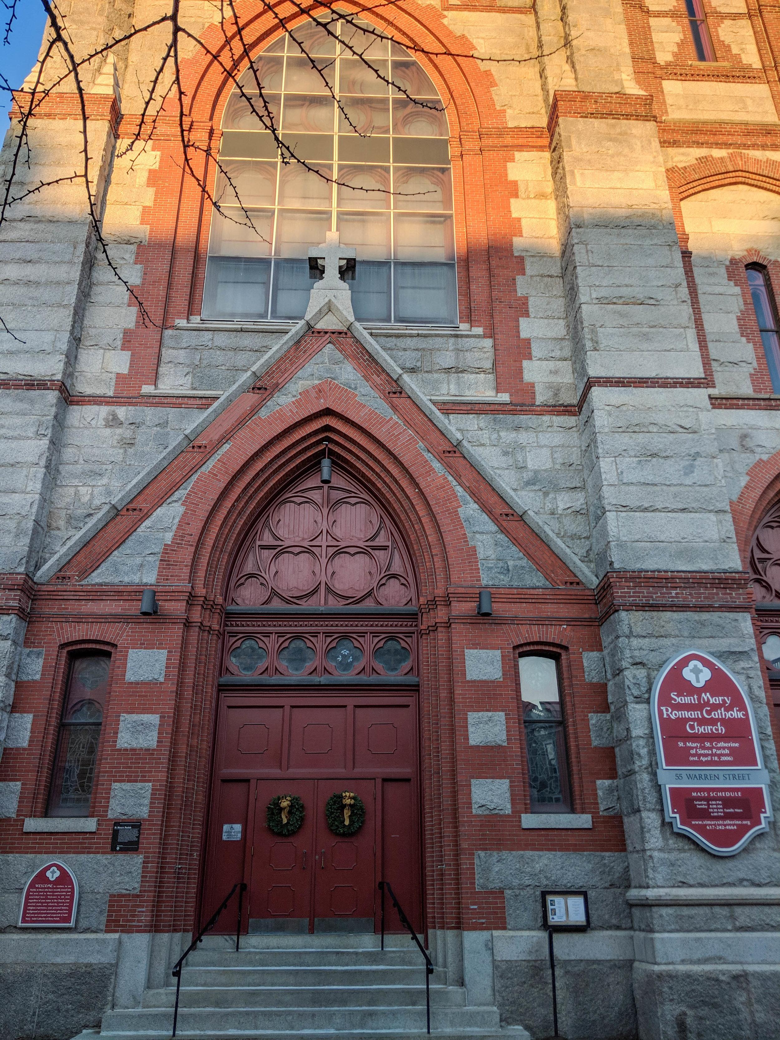 bri rinehart; photography; boston; charlestown; church