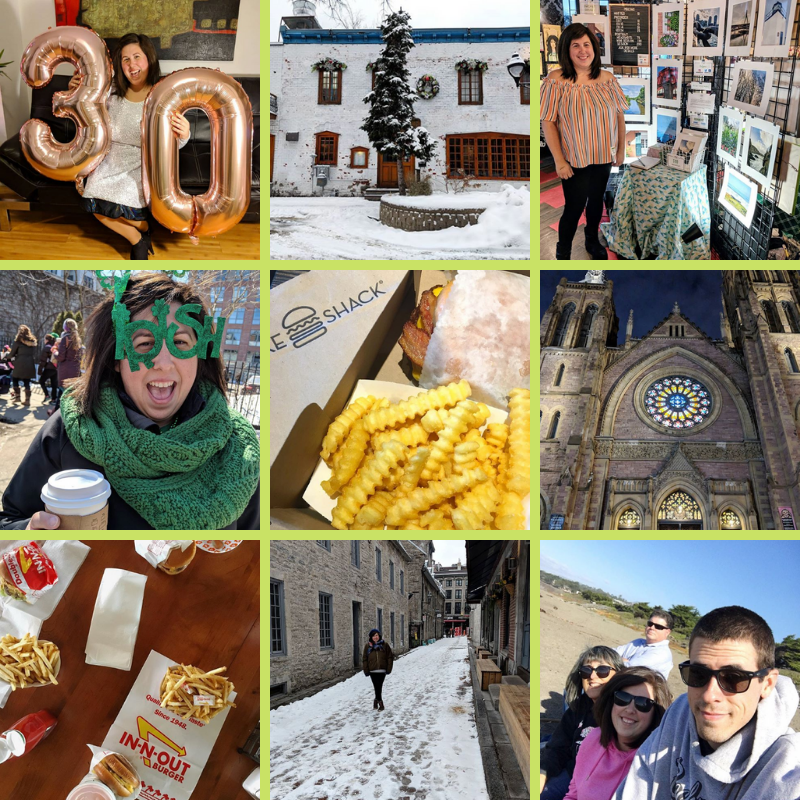 bri rinehart; instagram; top nine; 2018; year in review