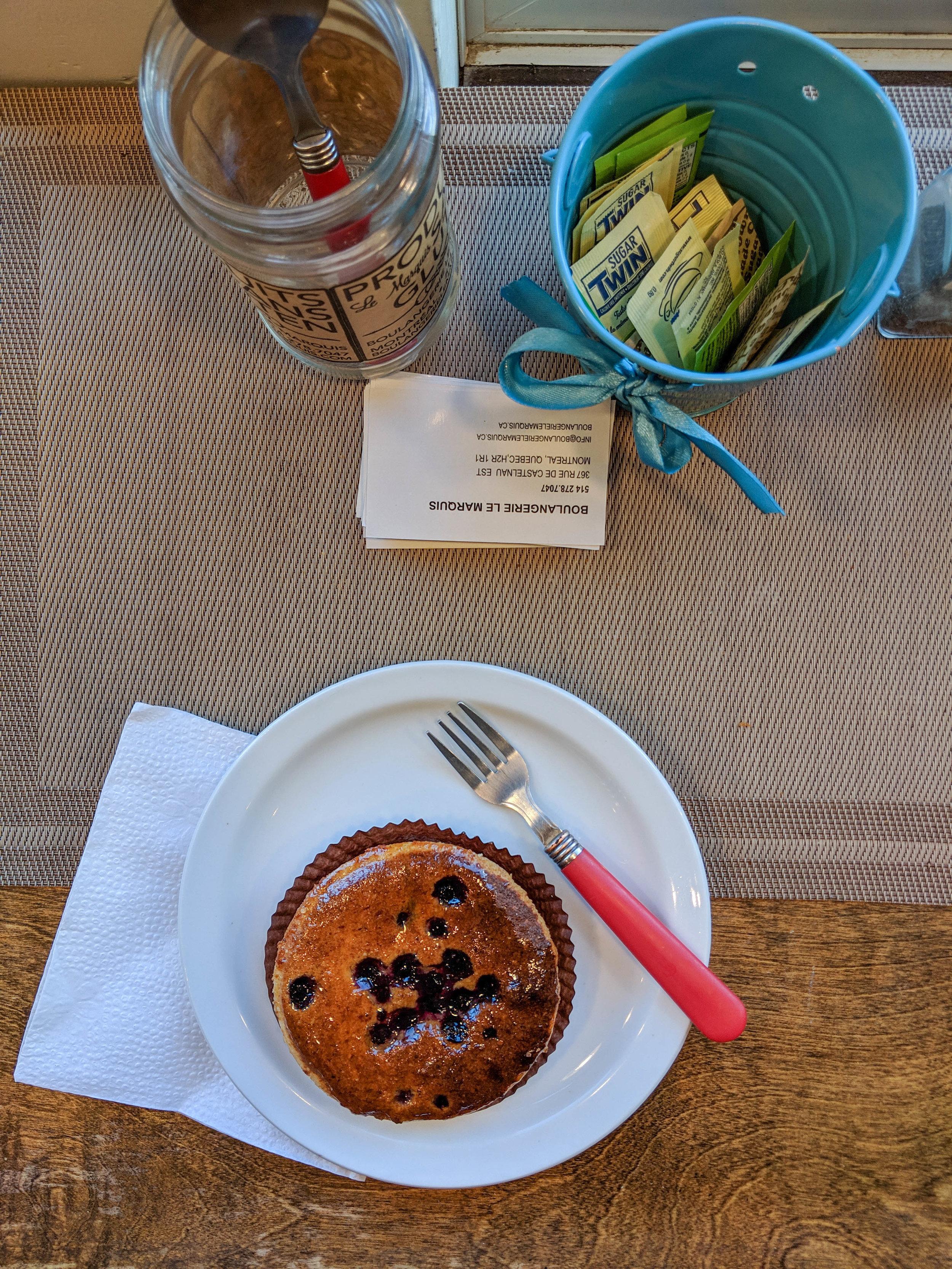 bri rinehart; montreal; le marquis sans gluten; foodie