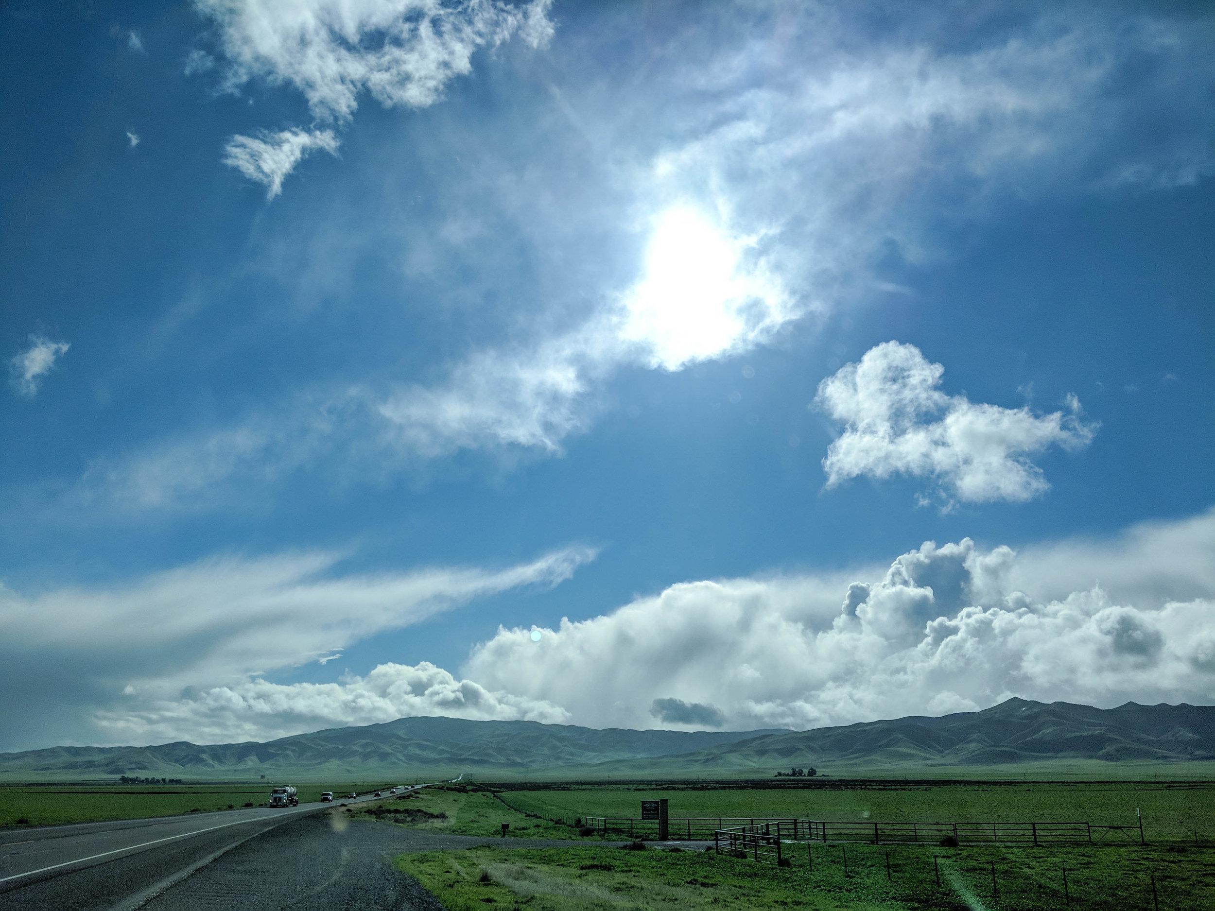 bri rinehart; photography; california; skies; clouds