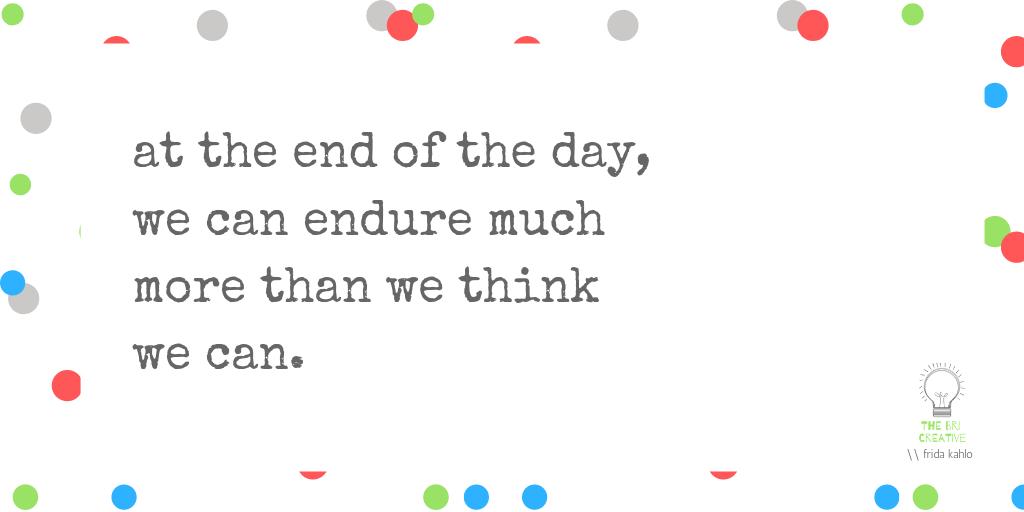 bri rinehart; quote; the bri creative; design