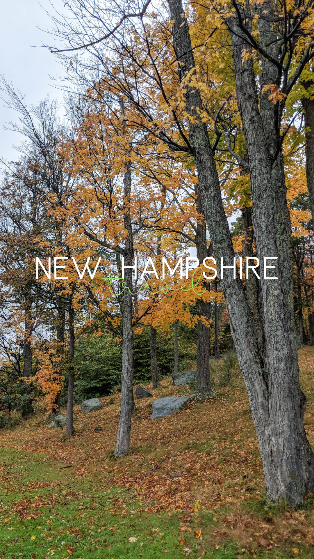 bri rinehart; new hampshire travel