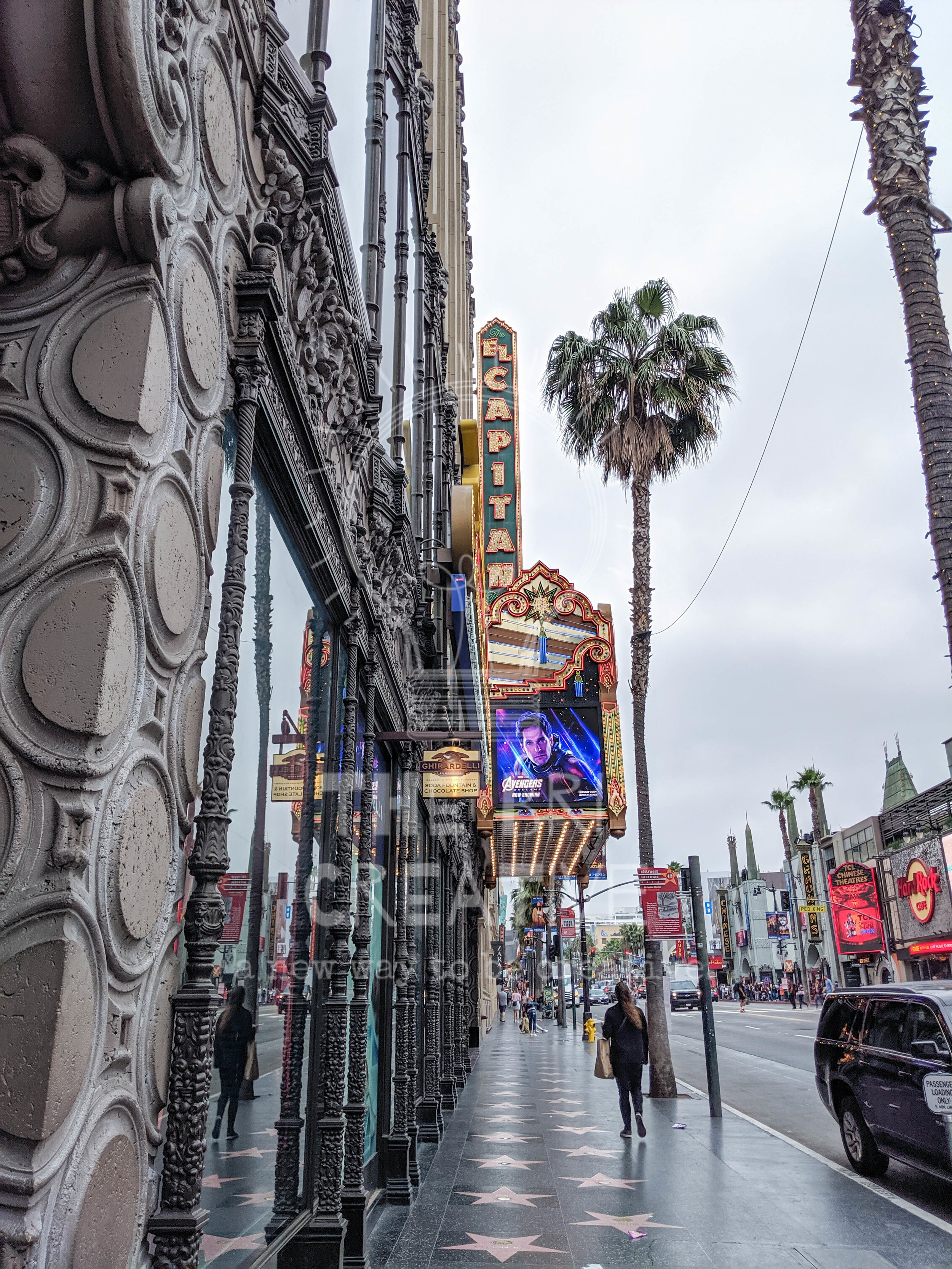 bri rinehart; adventure; california; los angeles; hollywood; hollywood boulevard