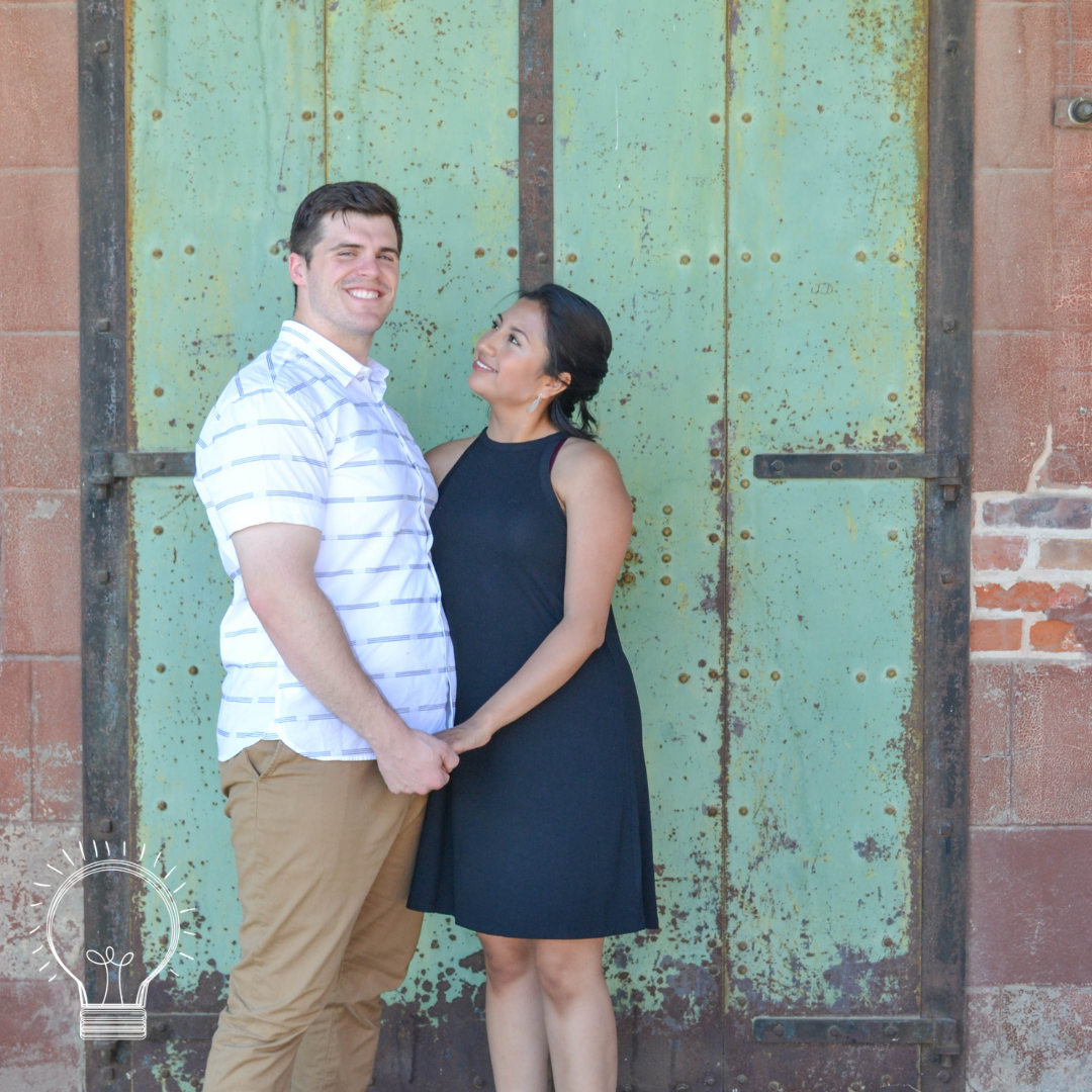 bri rinehart; the bri creative; hanford; california; engagement; photography