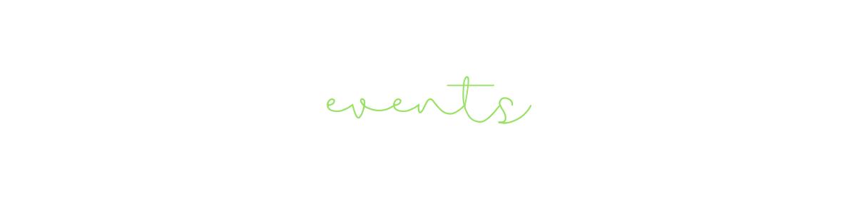 bri rinehart; events; the bri creative