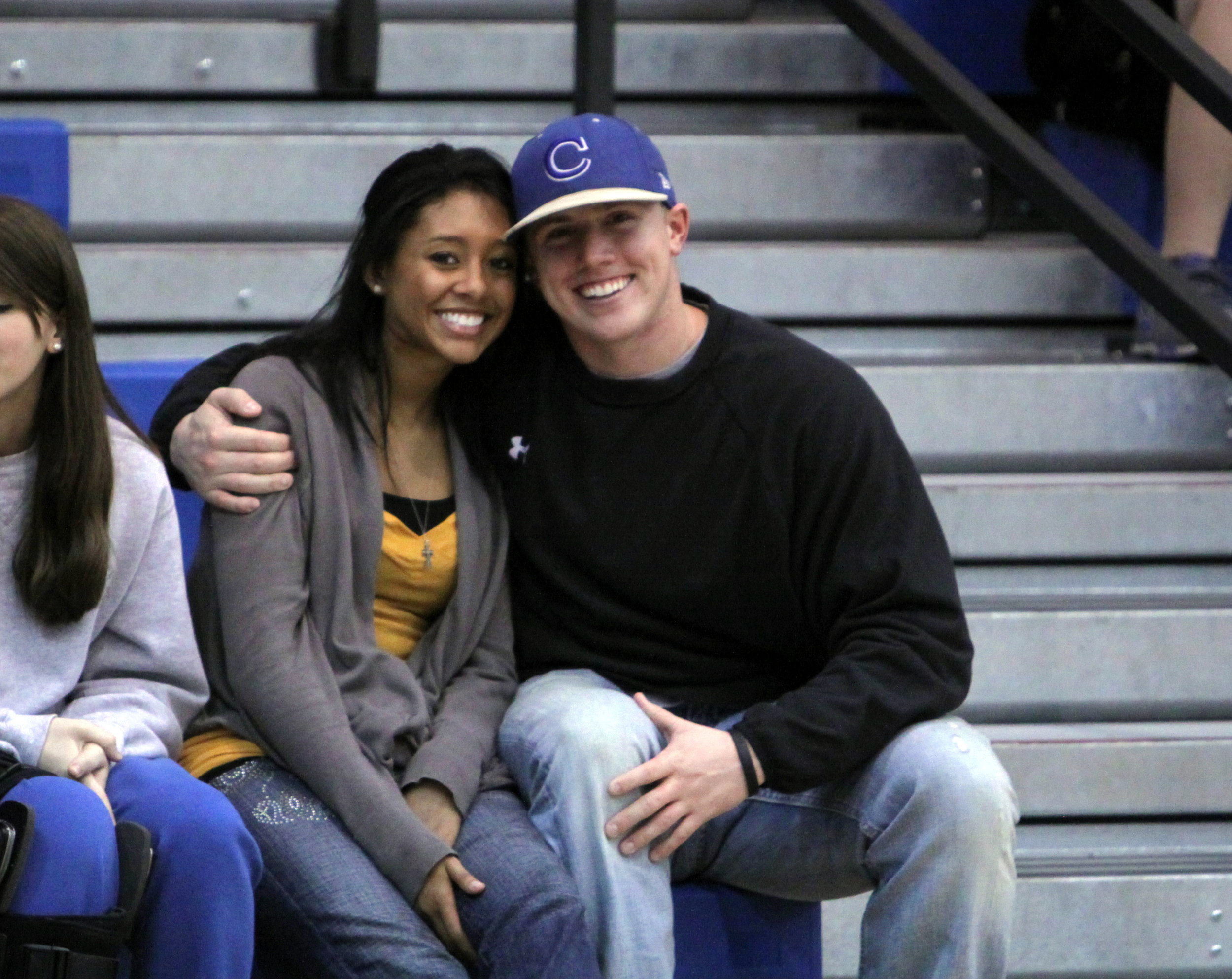 Highschool Rob and Britt. Literal BABIES. Look at those bedazzled jeans...