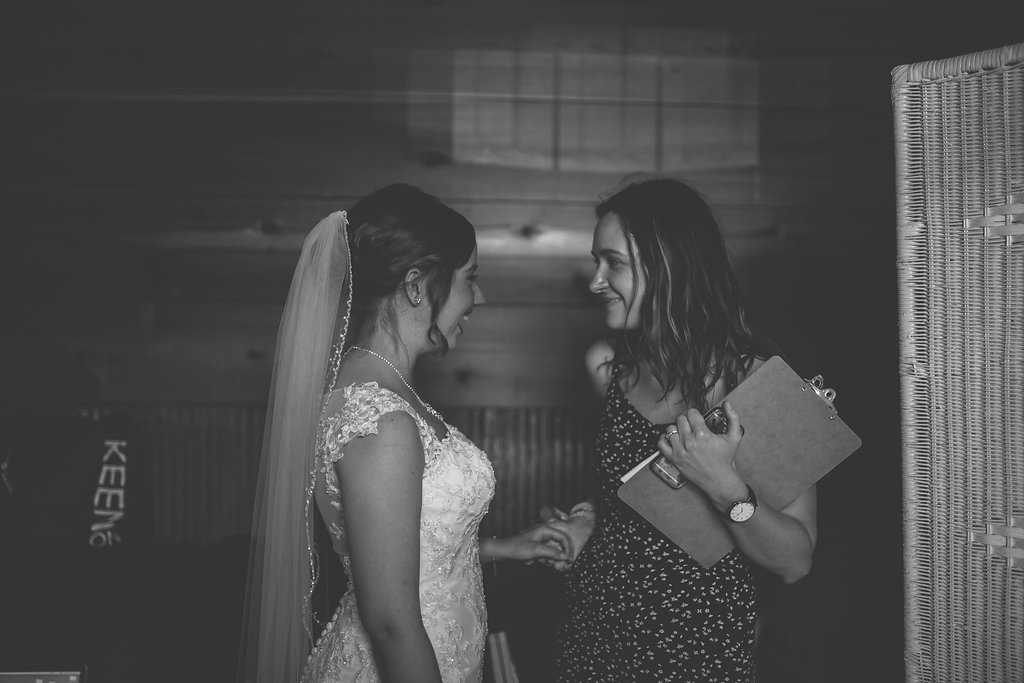 My first wedding - They trusted me with their wedding day, and I learned that I LOVE this work and do this work well.