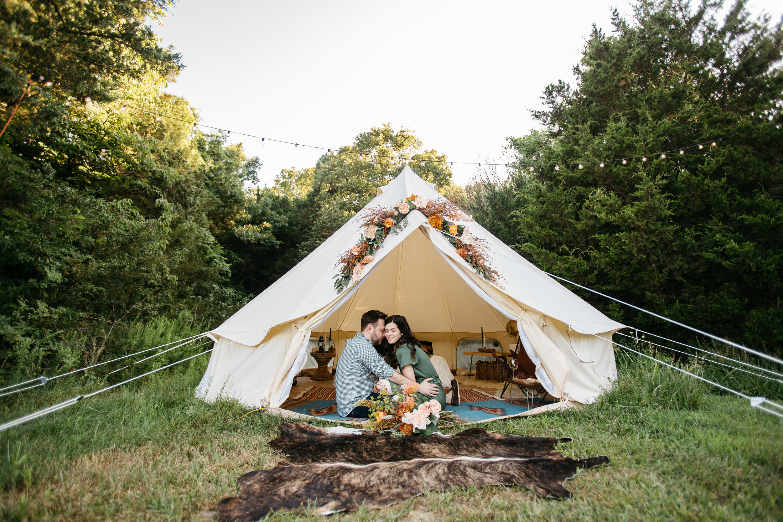 Engagement Style Inspiration From Unions With Celia and Adam and Dawn Photography