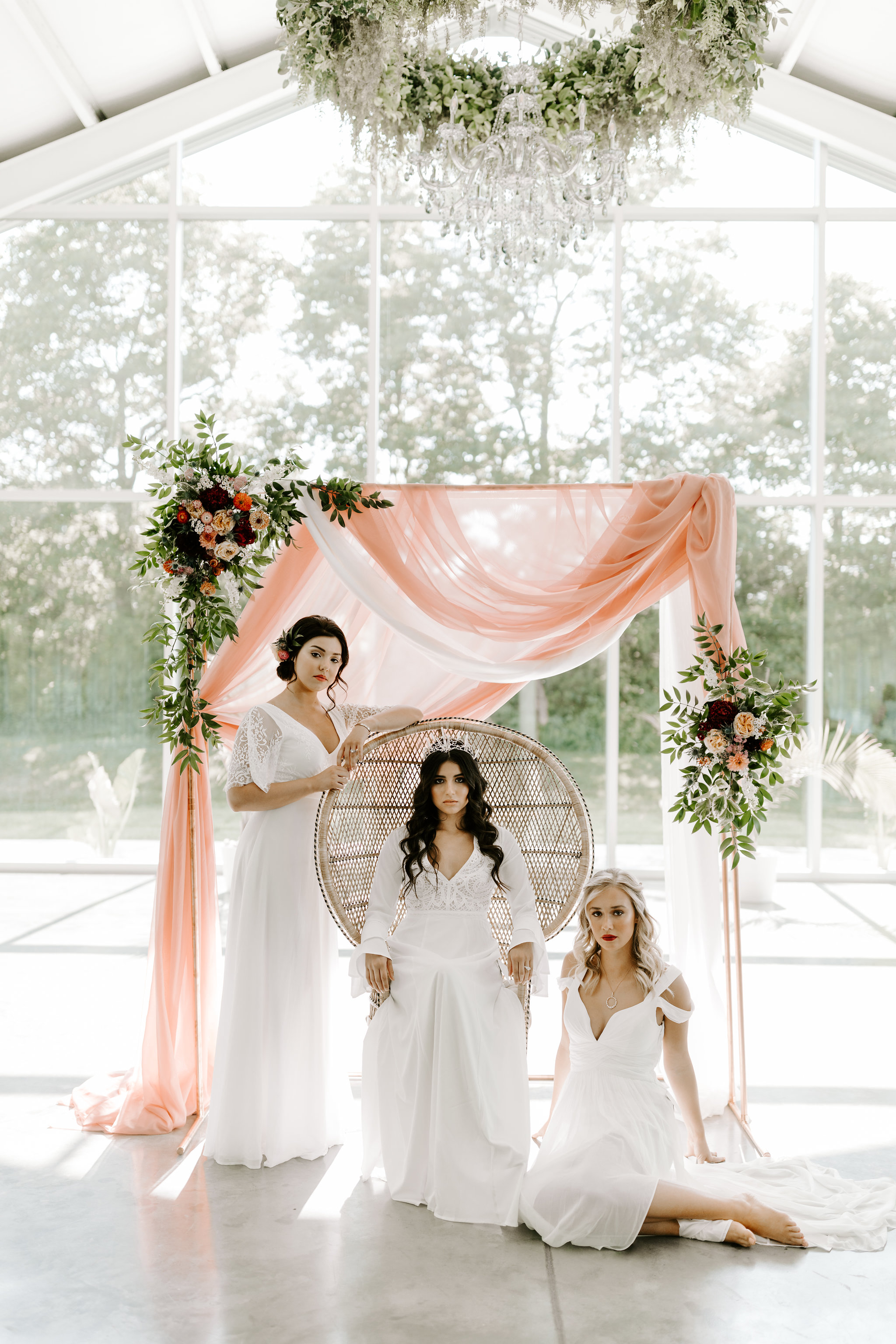 Heaven Meets Earth Wedding Inspiration | Designed by Unions With Celia | Sarah Jane Photography | Greenhouse Two Rivers Venue | Inspired by both the organic beauty of the earth and the heavens, we wanted to combine the celestial with the natural for this Heaven Meets Earth inspiration shoot.
