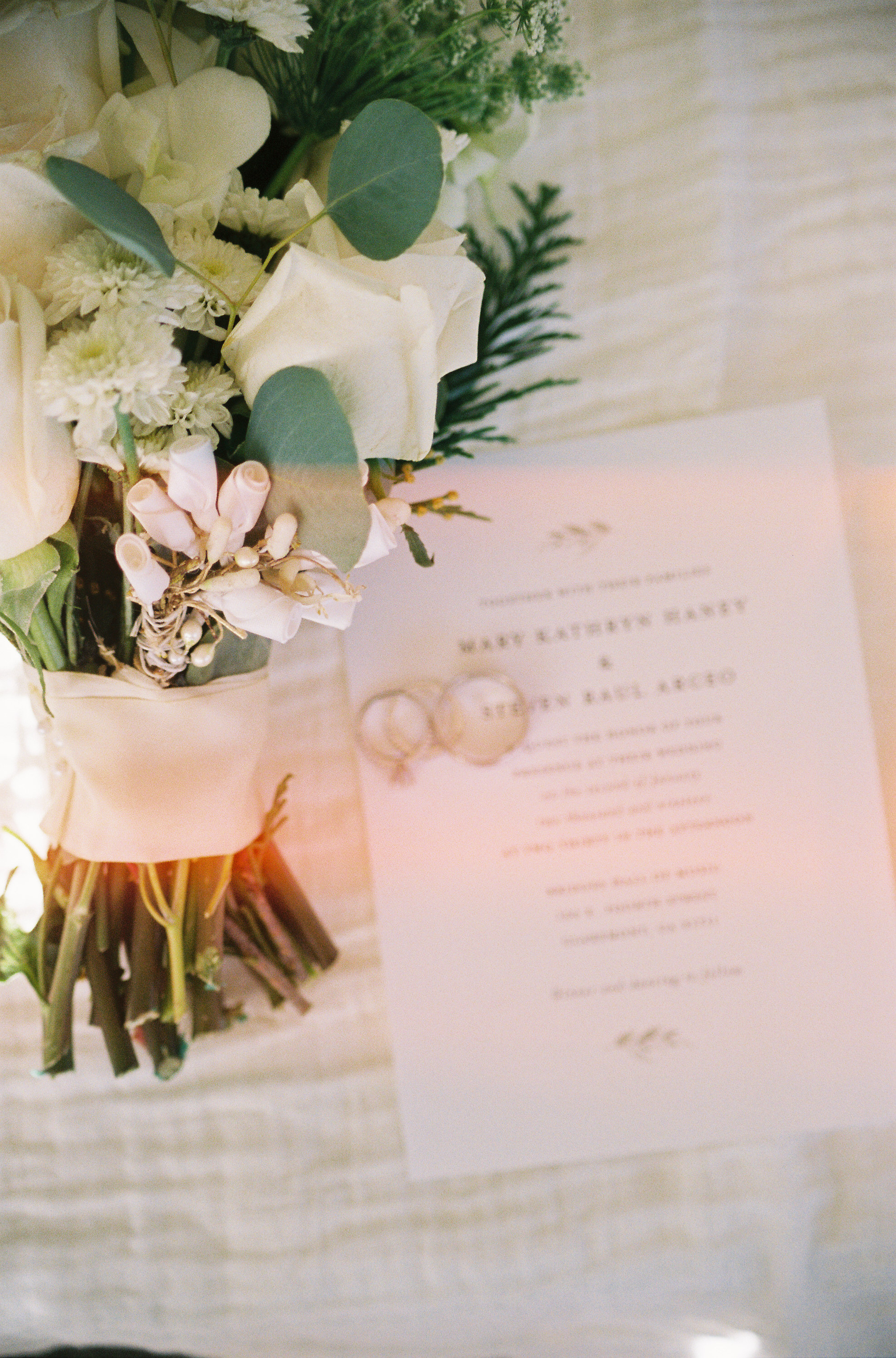 Elegant Wedding Invitation Suite | Southern California Romantic Wedding Near Their Home | Unions With Celia | Amy & Darren Photography |