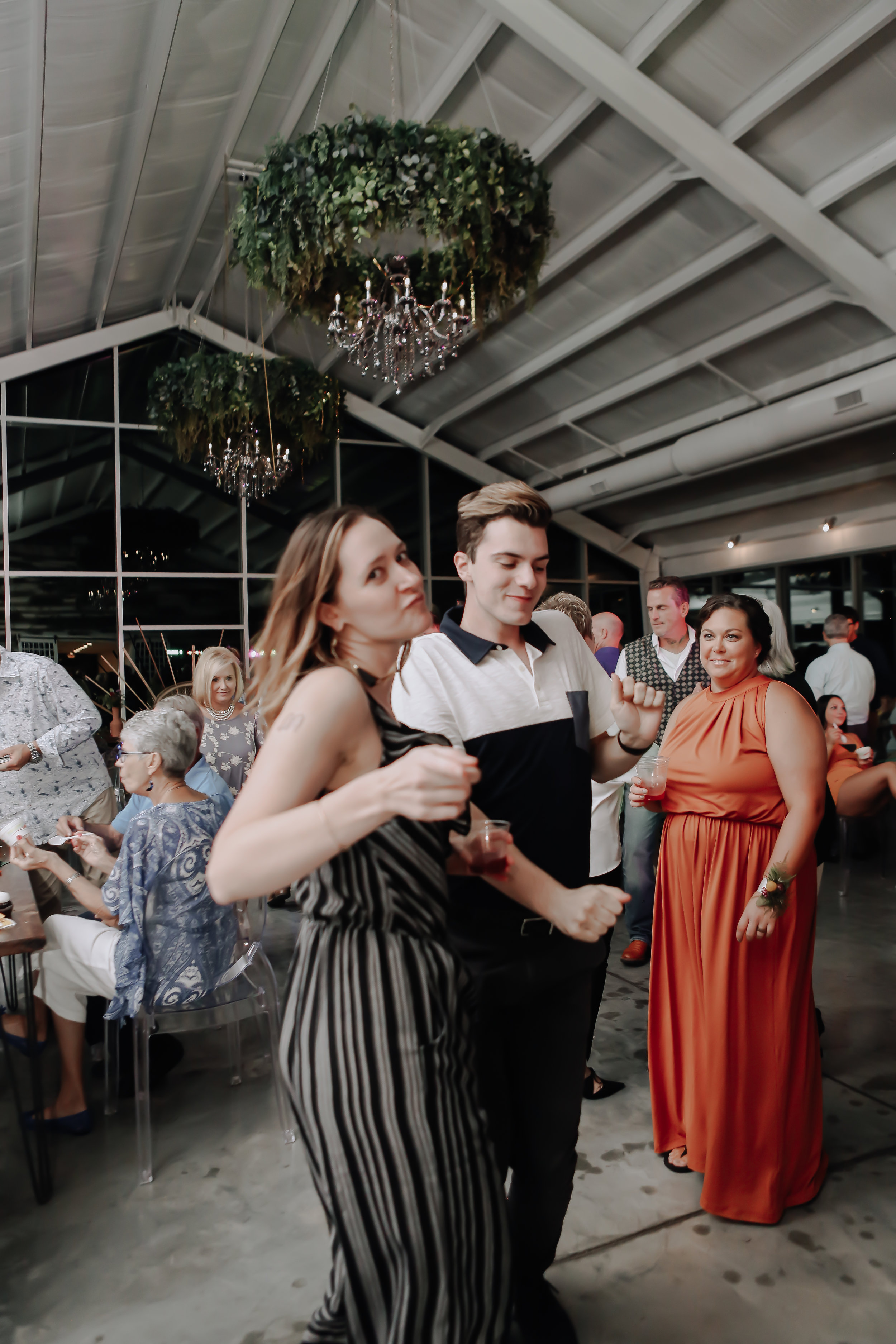 The best weddings are the ones where the couple fully shows up as themselves. That's when people celebrate the most. | Lauren Greenberg Photography