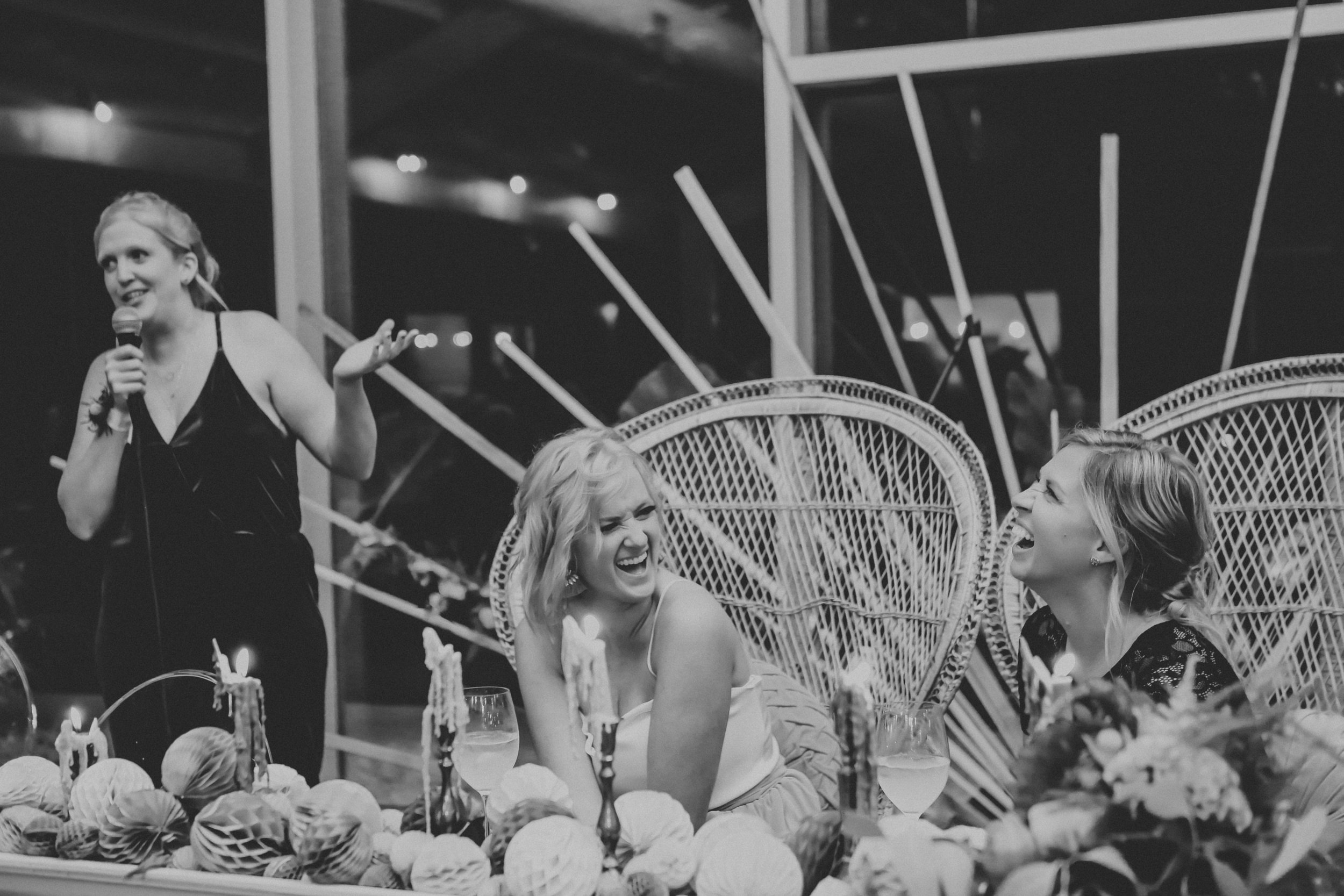 Maid of Honor Speech and Rap 3 at Greenhouse Two Rivers Wedding - Wedding Planning with Unions With Celia