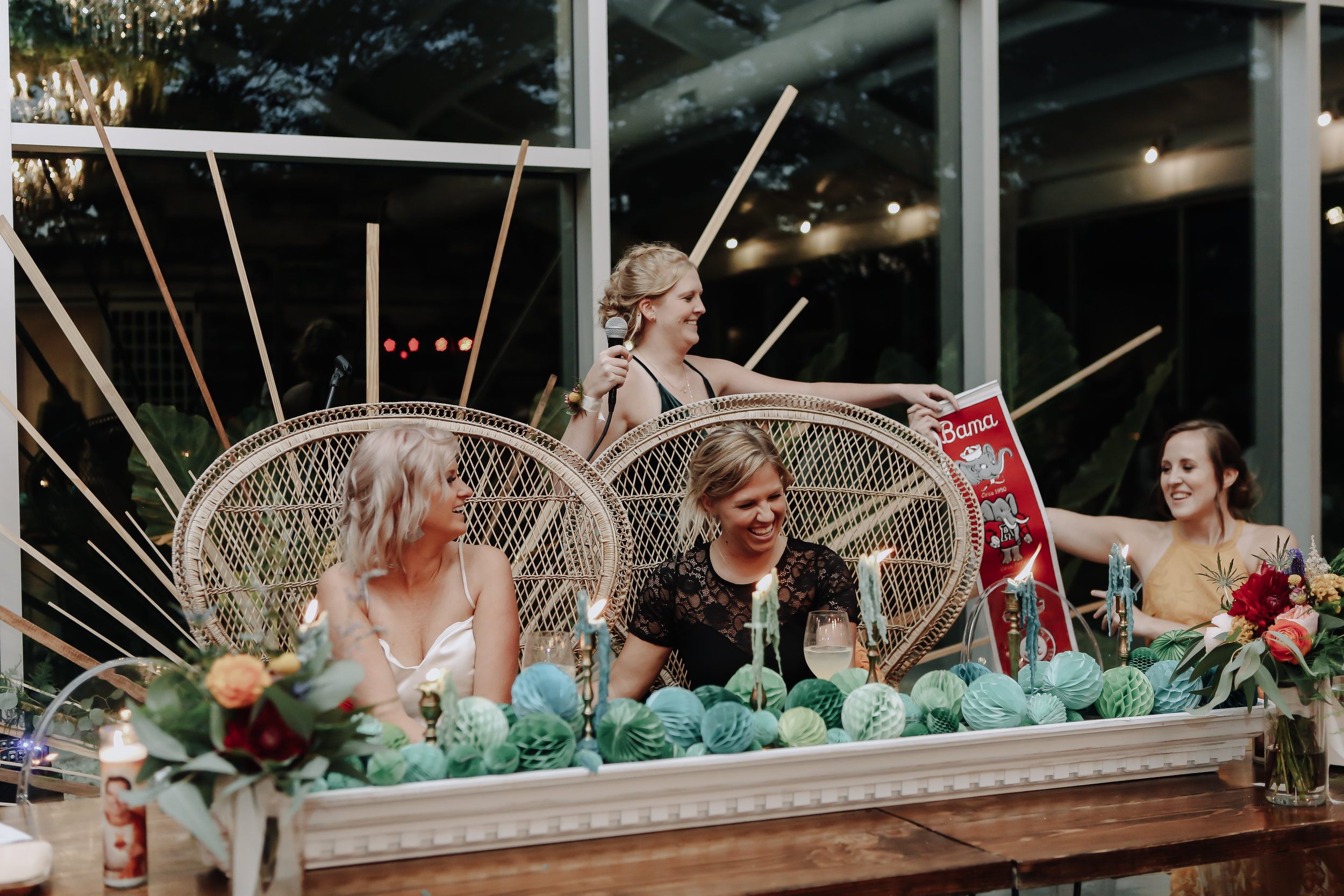 Maid of Honor Speech and Rap 2 at Greenhouse Two Rivers Wedding - Wedding Planning with Unions With Celia