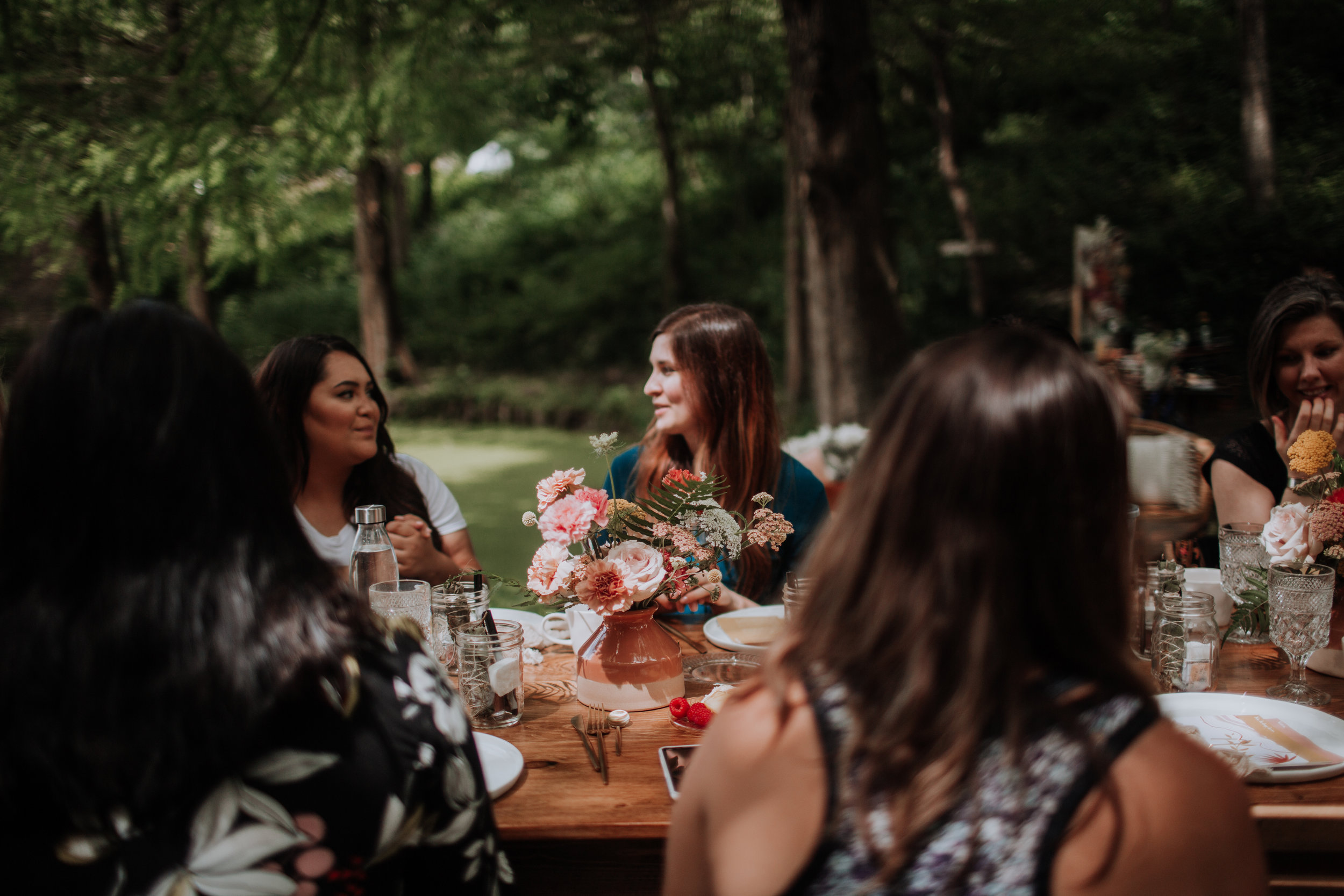 Intentionally planned by event planners and event designers, creative entrepreneurs connected with each other at Gather Midwest and found themselves prepared for their next big project.