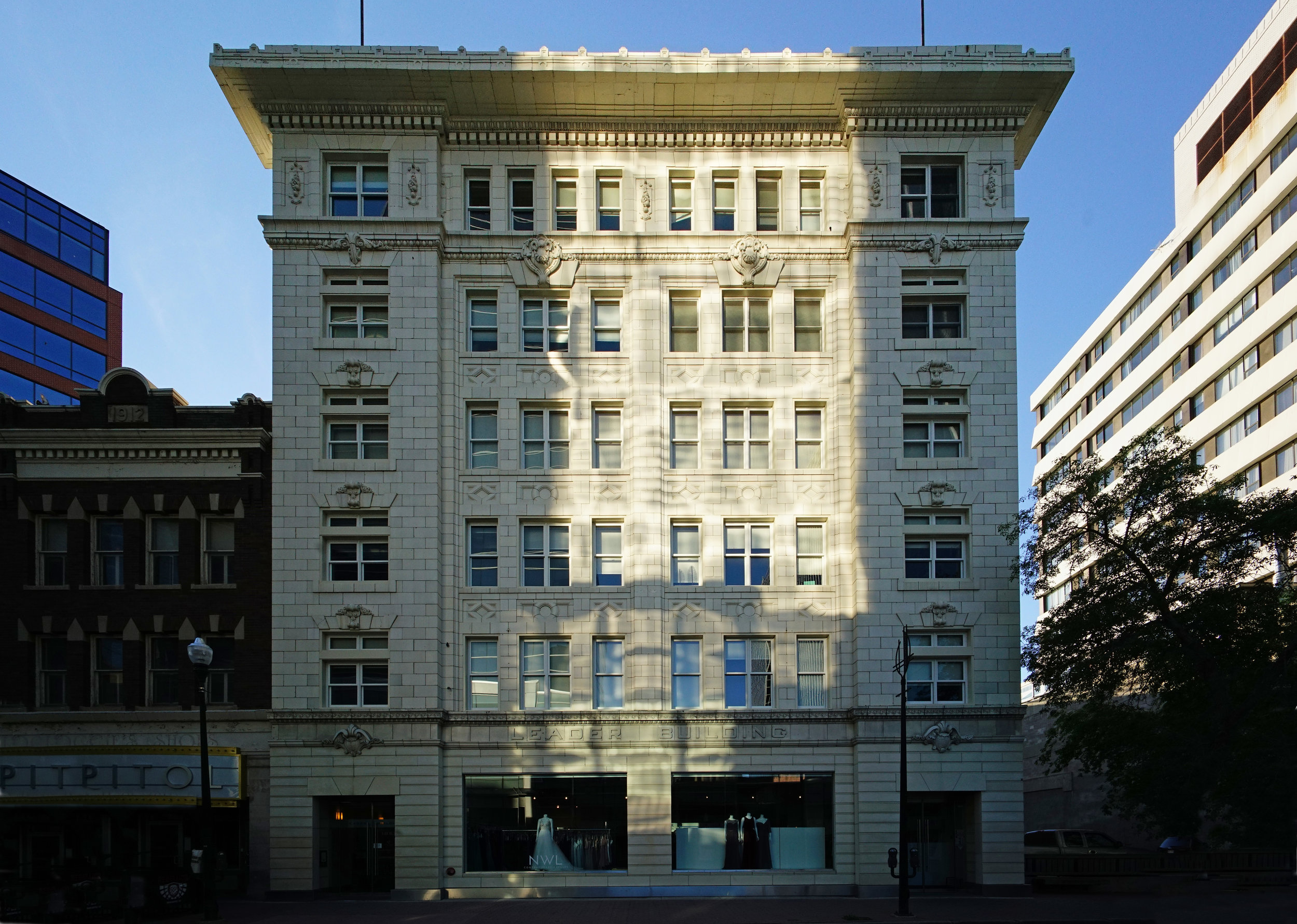 The historic Leader building, 1853 Hamilton St.- renovated by Nicor Construction.