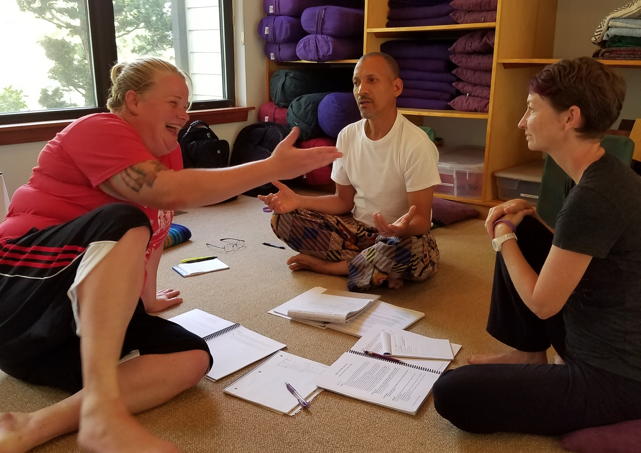 Yoga for Teens Teacher Training at Yogaville, VA in August 2017