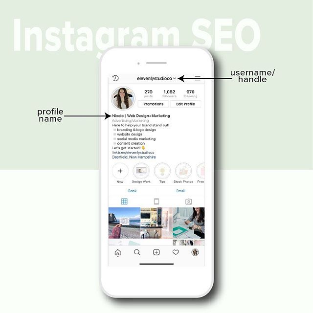 "Earlier today I had a monthly strategy call with an Instagram management client and we got started talking about ways to improve your Instagram 'SEO' 🤳⠀ ⠀⠀⠀⠀⠀⠀⠀⠀⠀⠀ One of the most effective (and easy!) ways is to add keywords to your username and profile name because these are the two spots Instagram looks when someone does a search on the app! 👀⠀ ⠀⠀⠀⠀⠀⠀⠀⠀⠀⠀ Here are some tips to help you:⠀ ⠀ ▪️These two spots are prime real estate so avoid having the same keywords in both spots (cough, cough, having your username in both places😉)⠀ ⠀ ▪️ If you're trying to attract location based clients I'd suggest having your location in one of the spots ""Miami Wedding Photographer""⠀ ⠀ ▪️Use keywords your ideal client with be searching for rather than industry specific ⠀ ⠀ ▪️Make sure your business name is in one of the spots⠀ ⠀ ▪️If you're the face of your business and run out of room for your name, just add it to the first line of your bio! ⠀ ⠀⠀⠀⠀⠀⠀⠀⠀⠀⠀ There ya go! Now it's really that simple 😀Not sure what keywords to use for your business? Shoot me a message and I'll help you!"