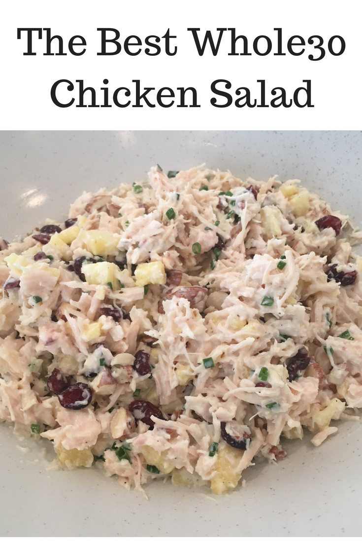 This really is the best chicken salad I've ever had!