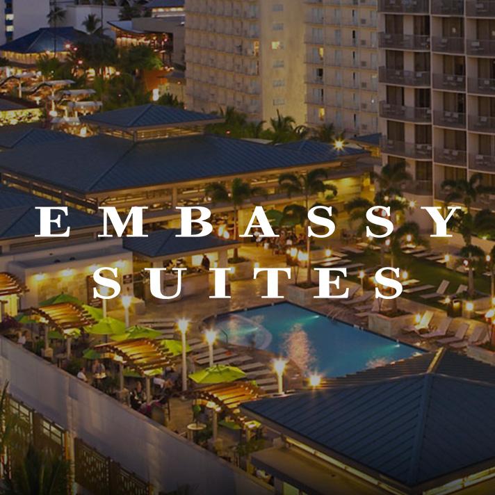 Embassy Suites<br /><span>(Hilton)</span>