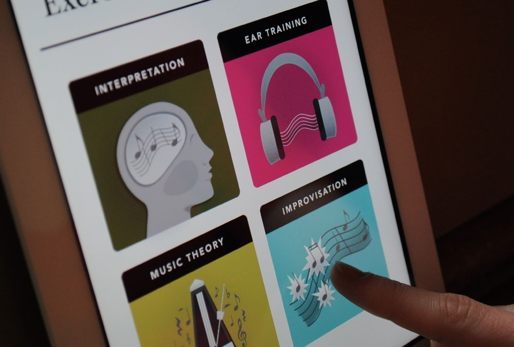 Rehearsal Mobile App Concept - NC State University   2012