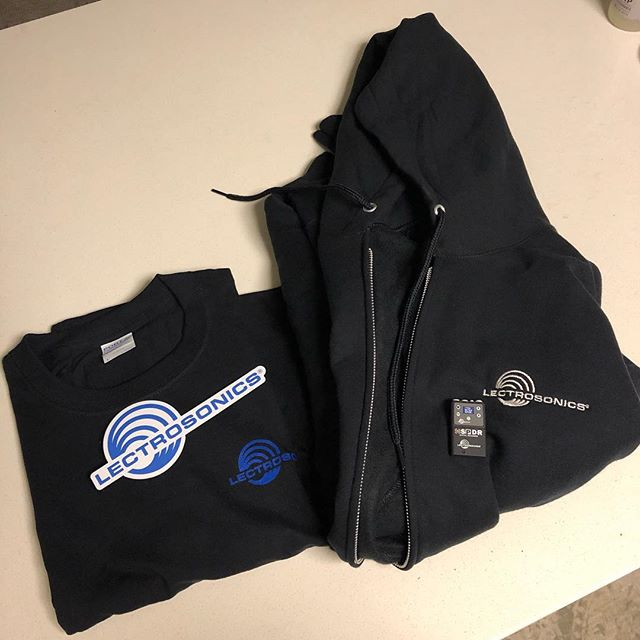 Thank you to @lectrosonics_inc for the sweet swag! Love their products and super knowledgeable staff. Here's to a busy new year! #soundmixer #soundrecordist #productionsound #locationaudio #lectrosonics
