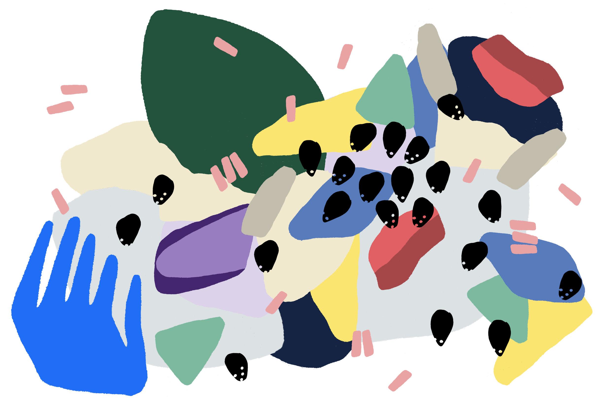 Illustration for startup focused site,  AngelList .