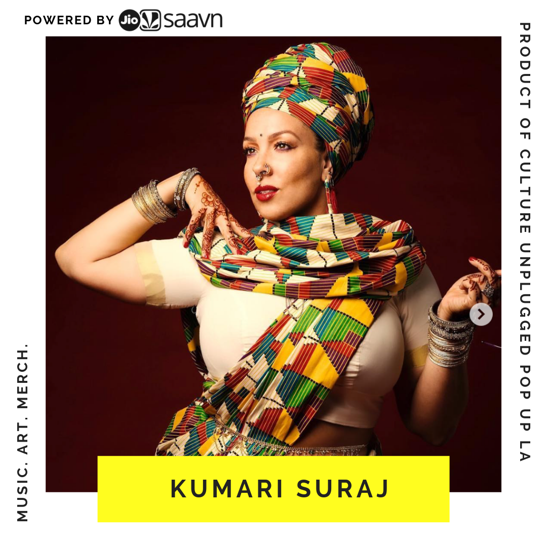 KUMARI SURAJ - Kumari Suraj is a dancer and choreographer whose skill and love for dance have distinguished her as a leader in the international street dance community. Kumari has shared her unique dance blend to enthusiasts in 30 different countries across six continents, focusing on a mixture of Waacking, House, Hip-Hop, Dancehall, and Vogue.