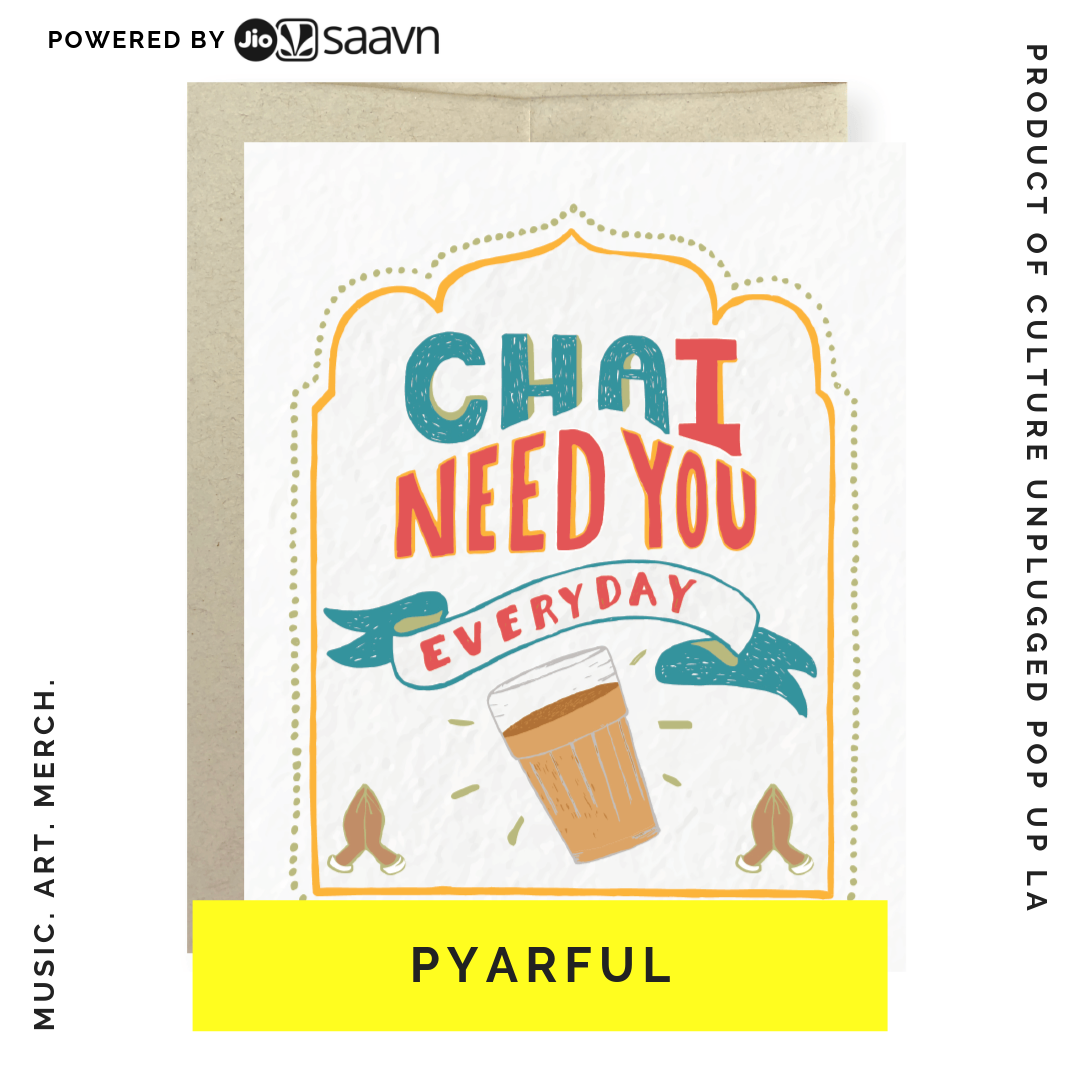 PYARFUL BY KRISA TAILOR - I'm Krisa Tailor - a first-generation Indian American, North Carolina native, lover of puns, pens, and chai, and the gal behind Pyarful. As a first-generation Indian American, I noticed that greeting cards that related to my South Asian roots simply didn't exist. A relatable Mother's Day card that captured a special bond with my mom, or a fun Diwali card for my friends, was nearly impossible to find. Unfortunately, in spite of the increasing popularity of craft stationery and paper goods, diversity and inclusion are seriously lacking from the gift-giving industry. That's why in 2017 I left my career in health tech to create Pyarful - a craft paper goods brand that celebrates the everyday joys of South Asian culture. Our hand-drawn greeting cards and prints are a playful ode to our multicultural upbringing, and small glimpses of experiences that so many of us South Asian-Americans share. Built on the values of celebration, connection, and craftsmanship, the brand illustrates South Asian culture in a fun and light-hearted way. I spent the last ten years of my life in healthcare - in both large corporations and startups, across various roles in product, marketing, and consulting. I started my own health tech company and I even wrote a book. Nothing has been as rewarding and as challenging as creating Pyarful.