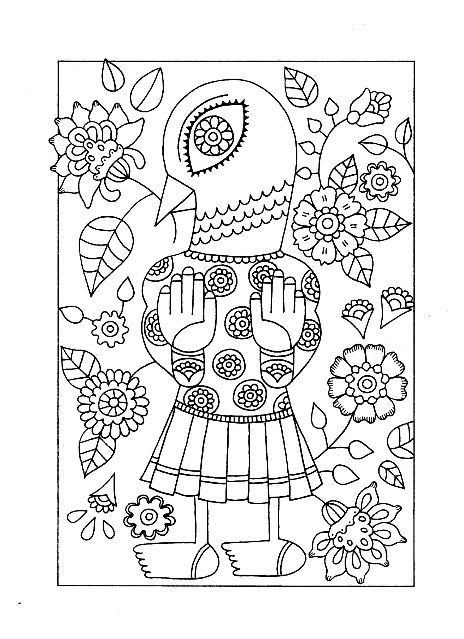Chinese coloring book line sketch drawing textbook Chinese ancient ... | 2064x1500