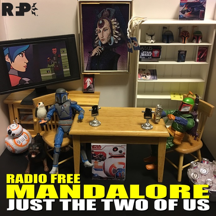 Radio Free Mandalore    J  ust the Two of Us   While Kevin is stuck at work, Tim and Patrick struggle to remember some very basic things.