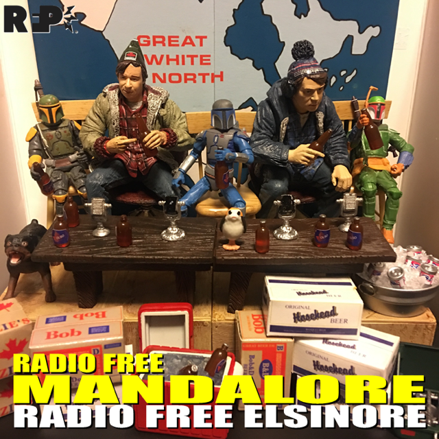 RADIO FREE MANDALORE    10/10/17 |  Radio Free Elsinore     Tim , Kevin & Patrick are joined this week by the  Stranger Brews boys, Dallas Wood and  Josh Nelson !