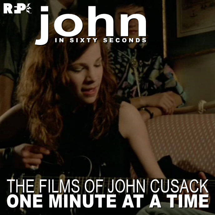 JOHN IN SIXTY SECONDS    SAY ANYTHING - MINUTE 029 |  Joe lies...    Nathan &  Patrick  break down minute twenty-nine of Say Anything, launch one more podcast, start thinking about the next Cusack film to break down, and fail to finish off the minute.