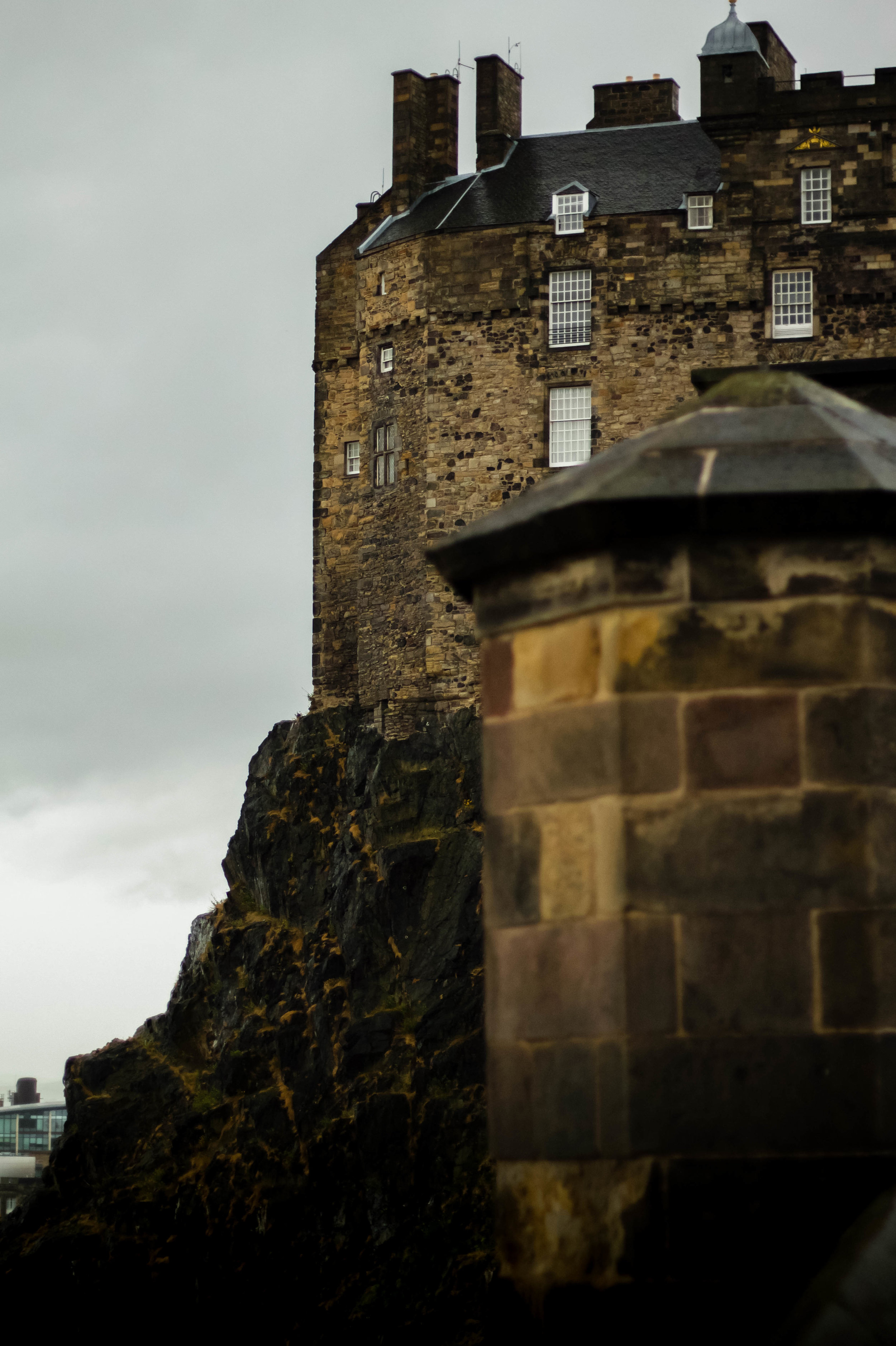 Edinburgh Castle (from outside of the entrance)