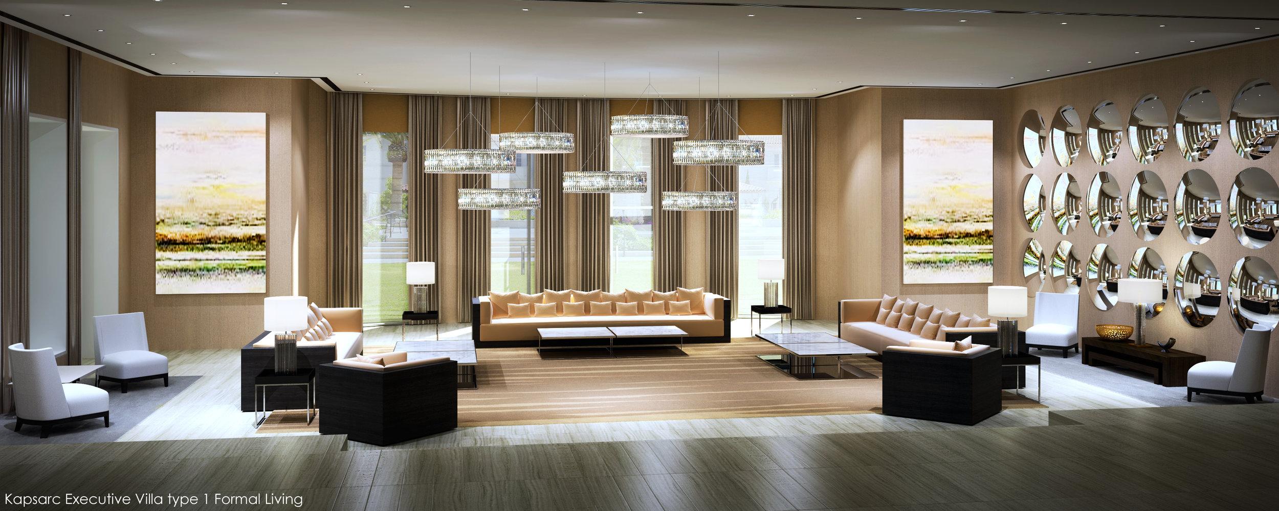Kapsarc Executive Villa type 1 Formal Living.jpg