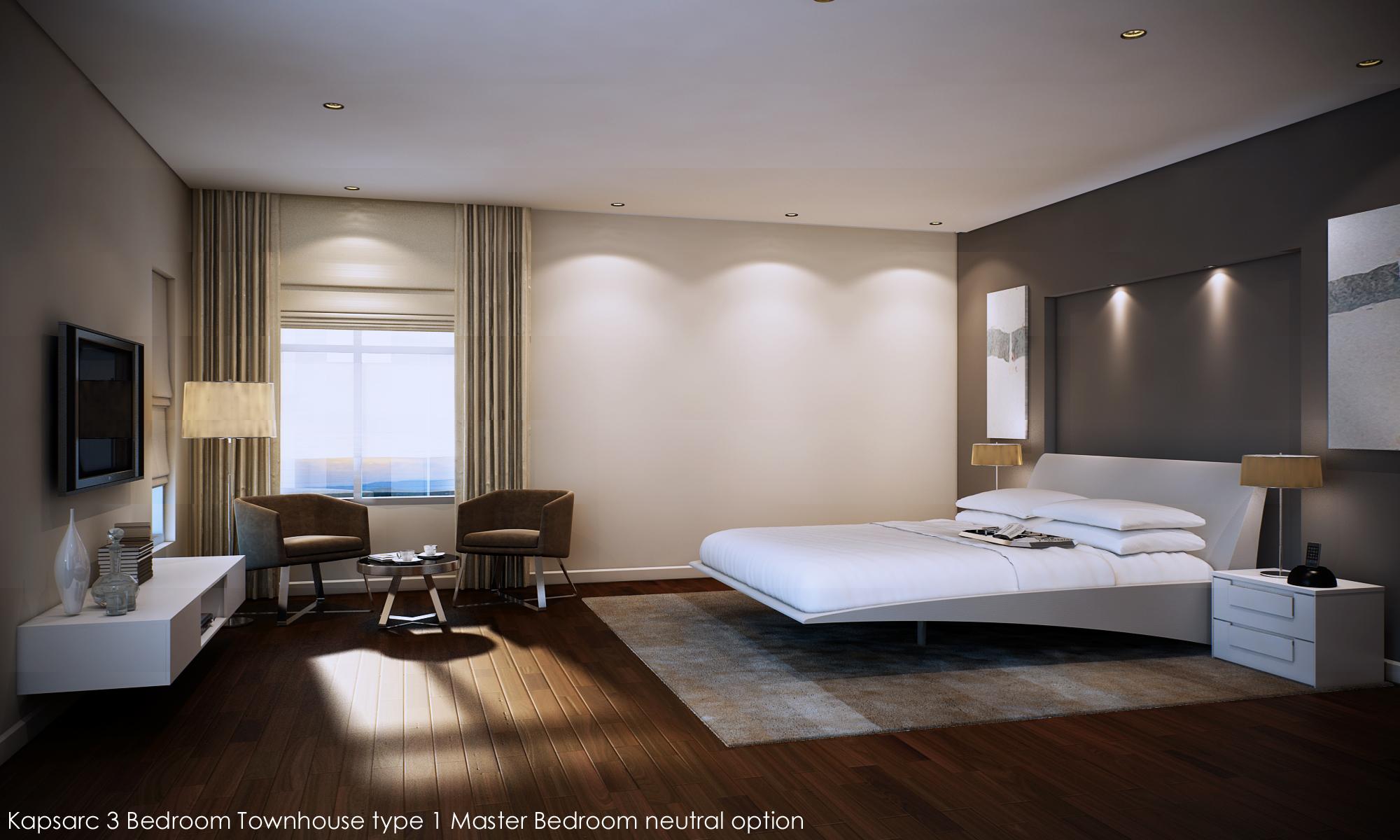 Kapsarc 3 Bedroom Townhouse type 1 Master Bedroom neutral op.jpg
