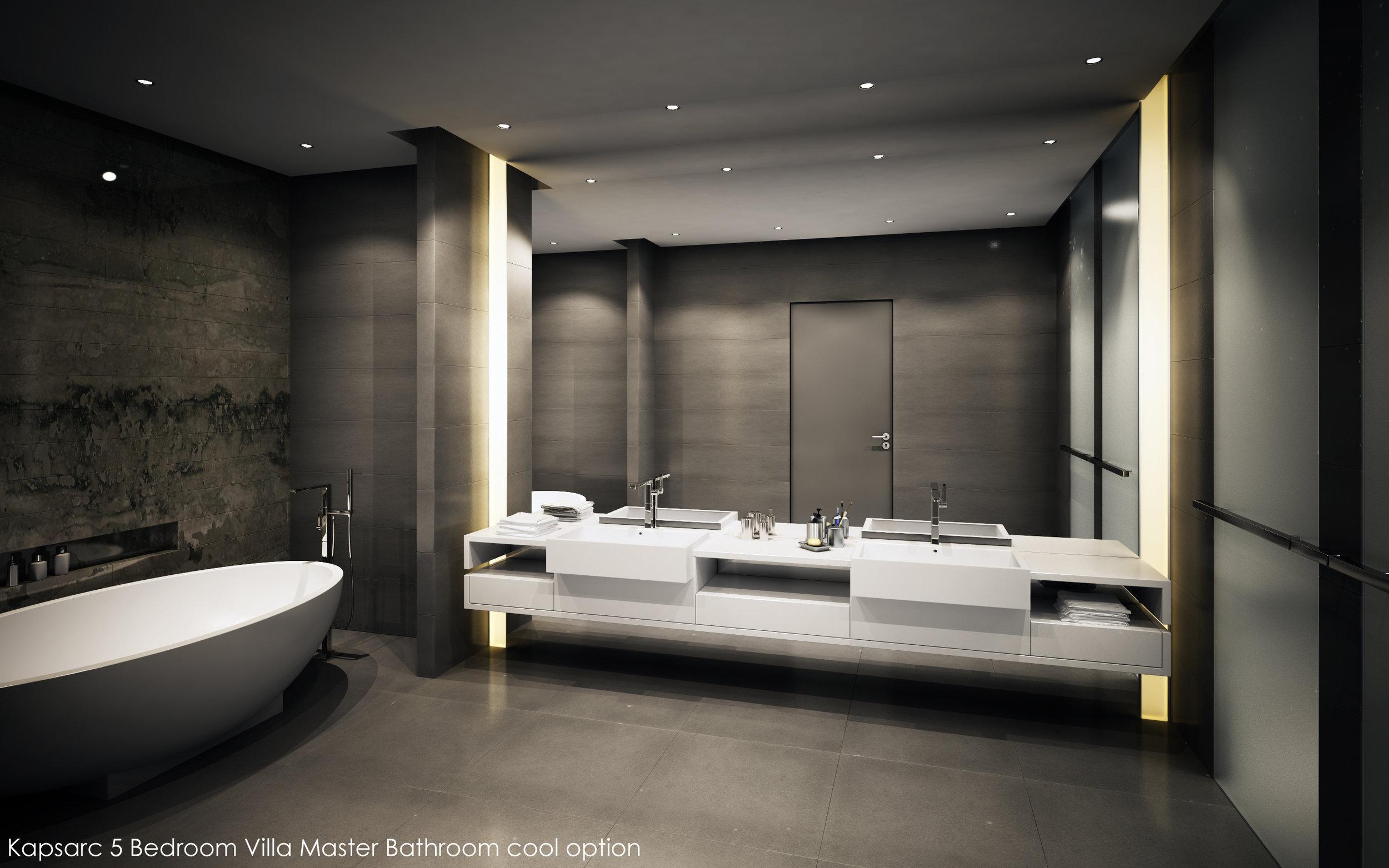 Kapsarc 5 Bedroom Villa Master Bathroom cool option.jpg