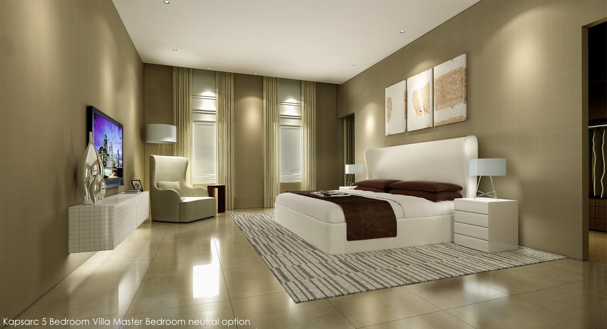 Kapsarc 5 Bedroom Villa Master Bedroom neutral option.jpg