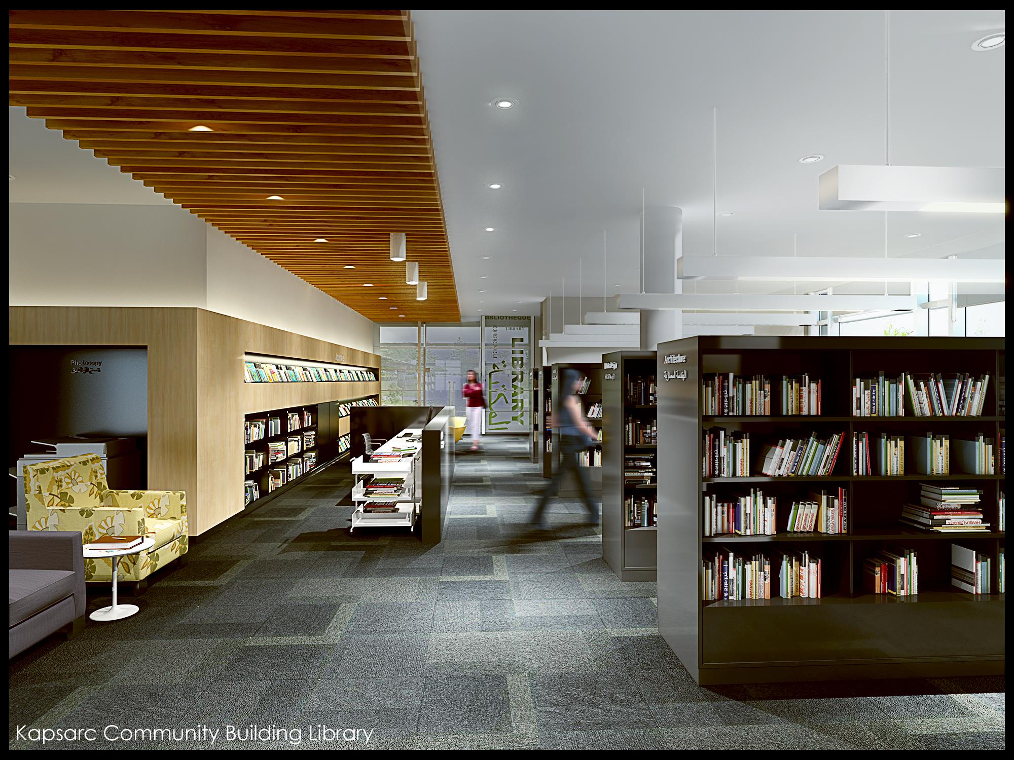 Kapsarc Community Building Library.jpg