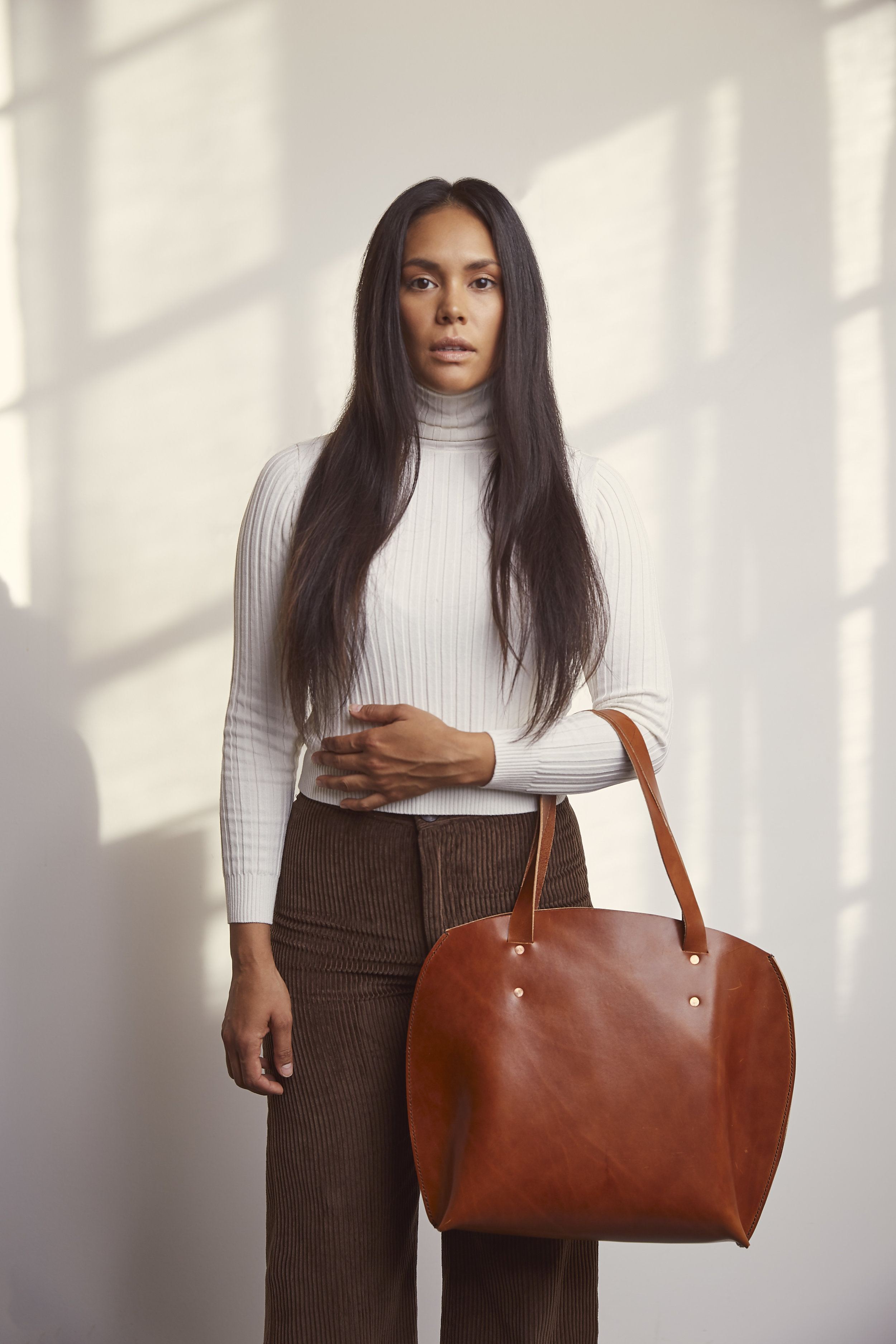 Hand Stitched Leather Bags & Accessories - Designed and made in Calgary Alberta