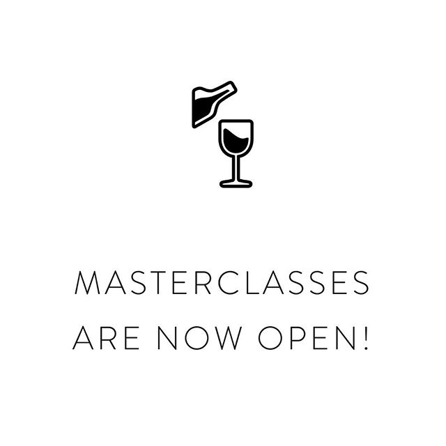 Our masterclasses are officially open! 🎉  Please visit the link in our bio to book your seat for one (or all!) of our exciting masterclasses. ⠀⠀⠀⠀⠀⠀⠀⠀⠀ This year, we're offering the following masterclasses: ⠀⠀⠀⠀⠀⠀⠀⠀⠀ 🍾 Champagne and Caviar - 12:30pm We bring the LUXURY as we pair trout and salmon caviar with three different styles of champagne from the houses of Laurent-Perrier, Bruno Paillard, A. Margaine and Dosnon. Presented by Caroline Desaulle, Laurent-Perrier Brand Ambassador, Huon Hooke and Mike Bennie. ⠀⠀⠀⠀⠀⠀⠀⠀⠀ 🍫 Bitter-Sweet Symphony - 2:00pm We push flavours to the limit by matching some of the rarest Vermouths by Gonzalez Byass and extraordinary Vinos on earth with some of the planet's finest chocolates. Presented by Paul Adam, Owner and Chocolatier of Du Plessy Pralin & Otello (Fine Handcrafted Chocolates and Patisserie), Huon Hooke and Mike Bennie. ⠀⠀⠀⠀⠀⠀⠀⠀⠀ 🍷 Pizzini vs. Italy - 3:30pm Australia's foremost proponent of Italian varietals, Pizzini Wines, dukes it out with some heavyweights from the Old Country, including Tenute Rossetti, Cordero di Montezemolo, Ucceleria and Fratelli Alessandria. Hosted by local hero Joel Pizzini, MC Mike Bennie and Umpire Huon Hooke. ⠀⠀⠀⠀⠀⠀⠀⠀⠀ Have fun! 👌