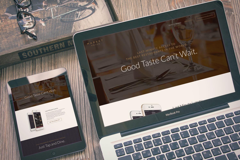 Responsive promotional website
