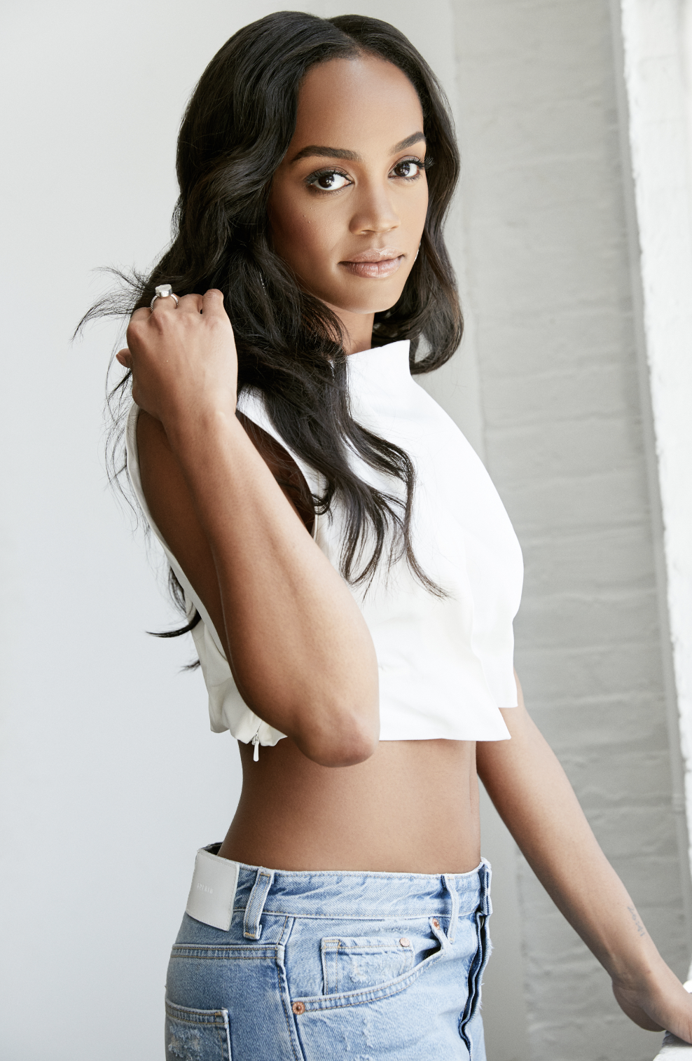 Rachel Lindsay, The Bachelorette / Wearing Gemma Top